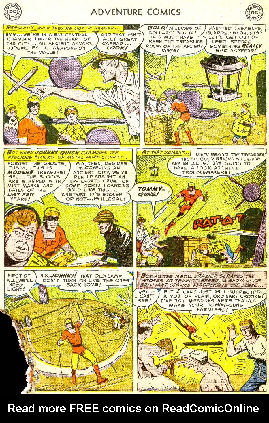 Read online Adventure Comics (1938) comic -  Issue #194 - 28