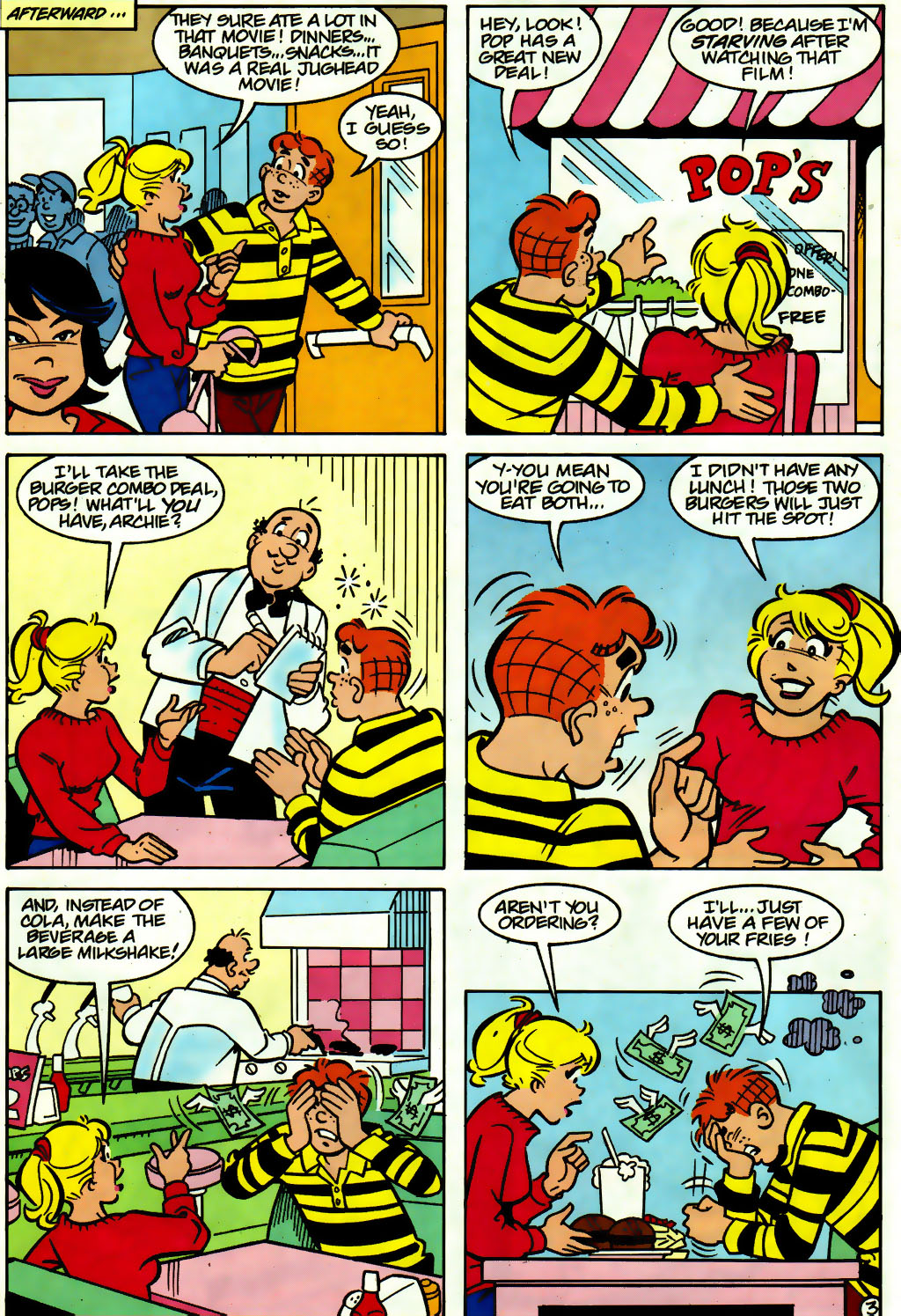 Read online Archie (1960) comic -  Issue #560 - 10