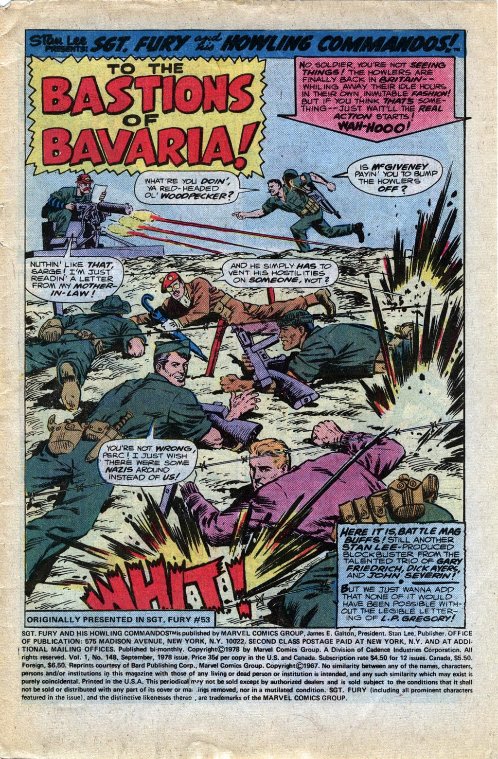 Read online Sgt. Fury comic -  Issue #148 - 3