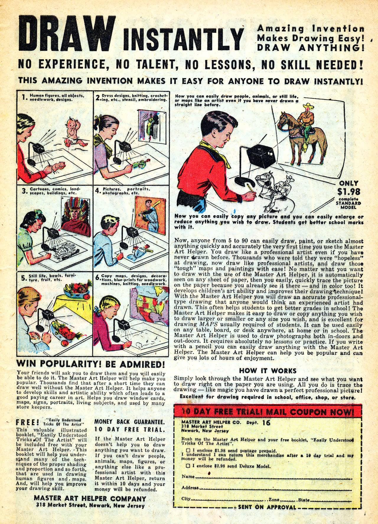 Read online Adventures into Weird Worlds comic -  Issue #11 - 11