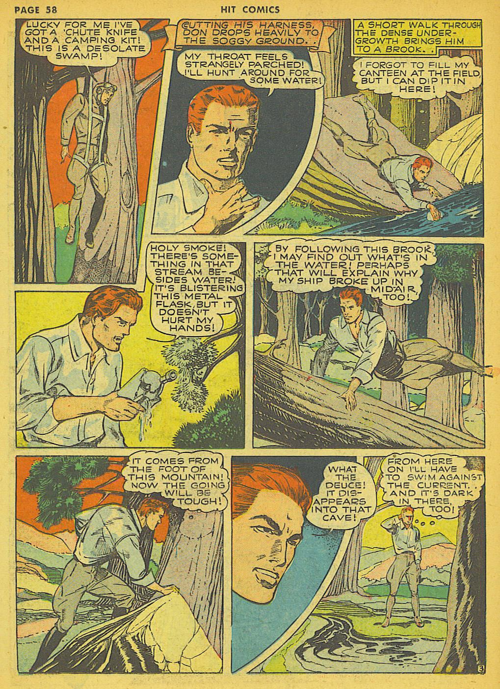 Read online Hit Comics comic -  Issue #21 - 60