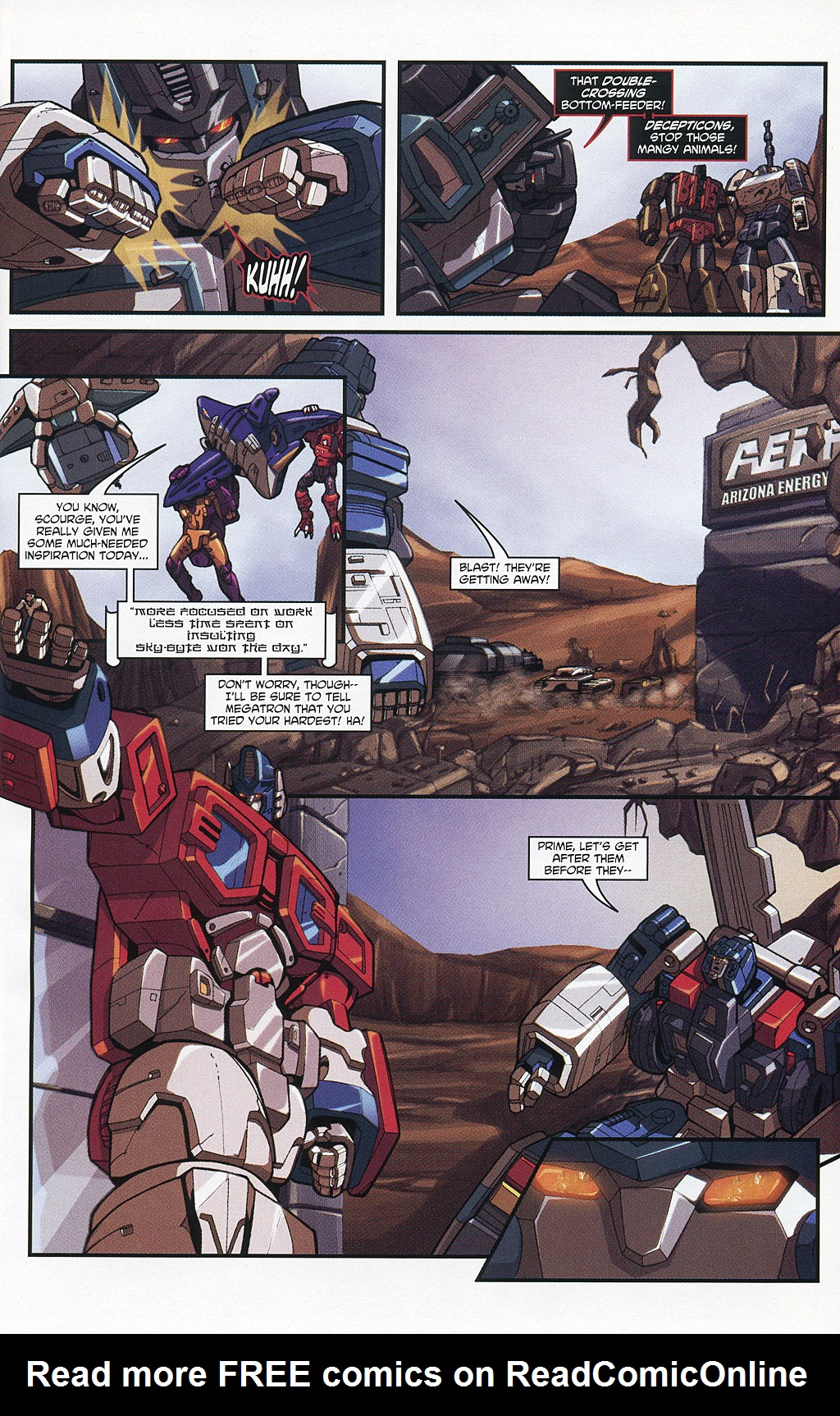 Read online Transformers 20th Anniversary Summer Special comic -  Issue # Full - 30