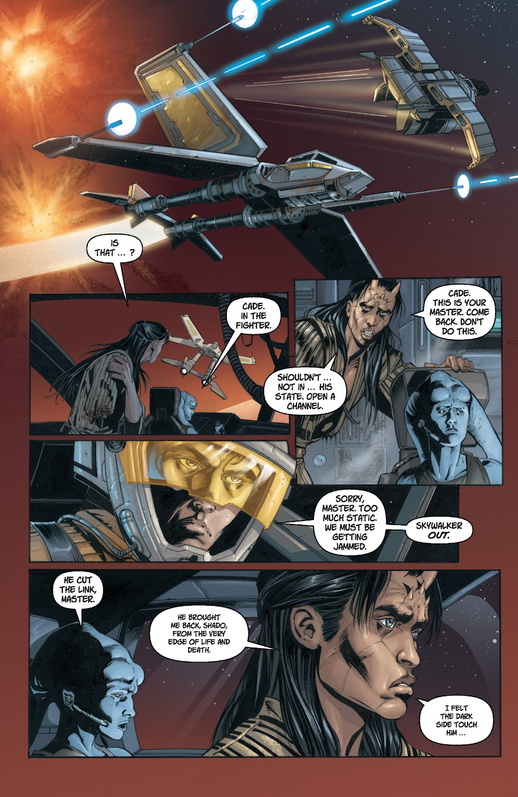 Read online Star Wars Legends: Legacy - Epic Collection comic -  Issue # TPB 1 (Part 1) - 18