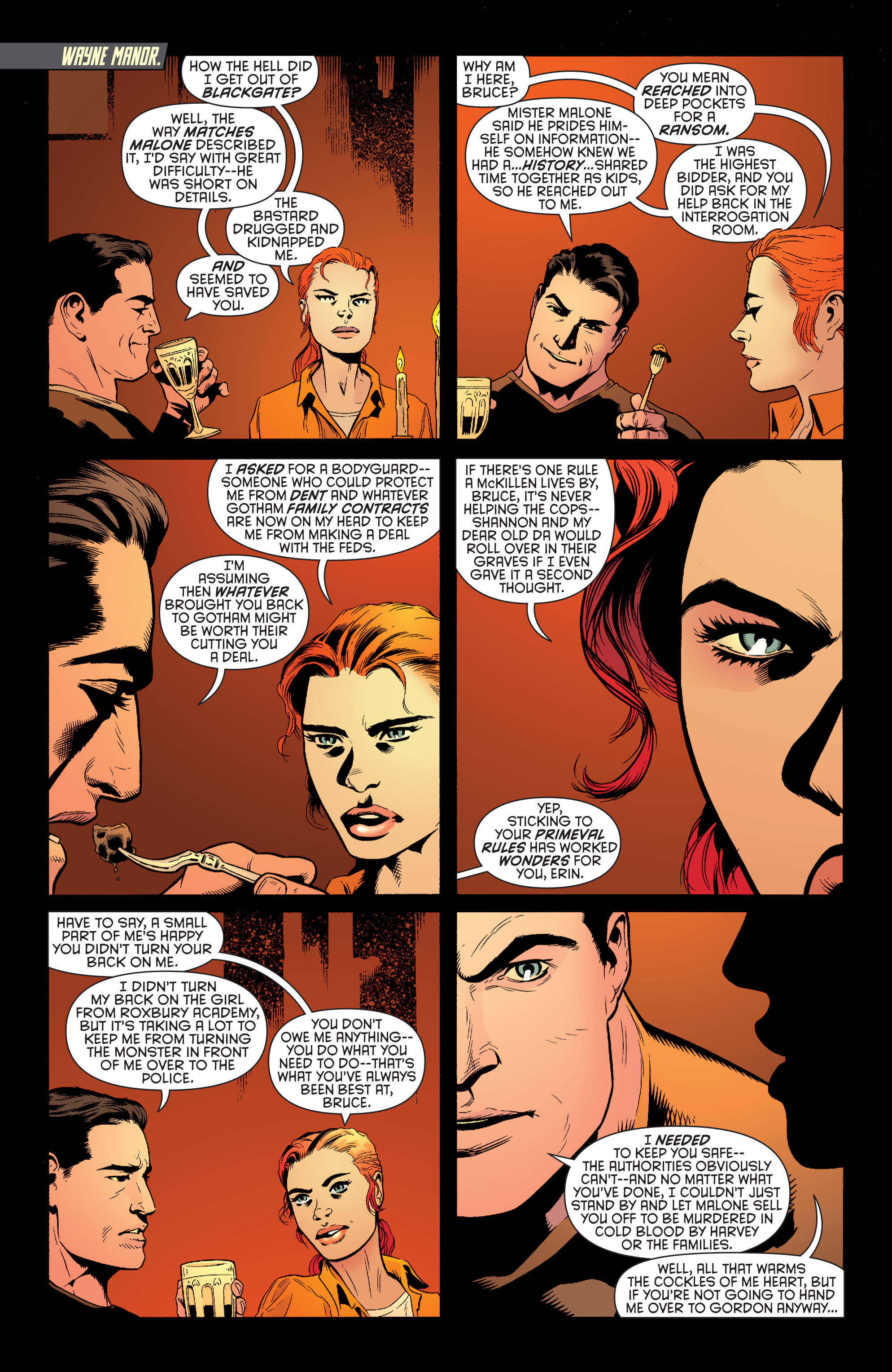 Read online Batman and Robin (2011) comic -  Issue #26 - Batman and Two-Face - 2
