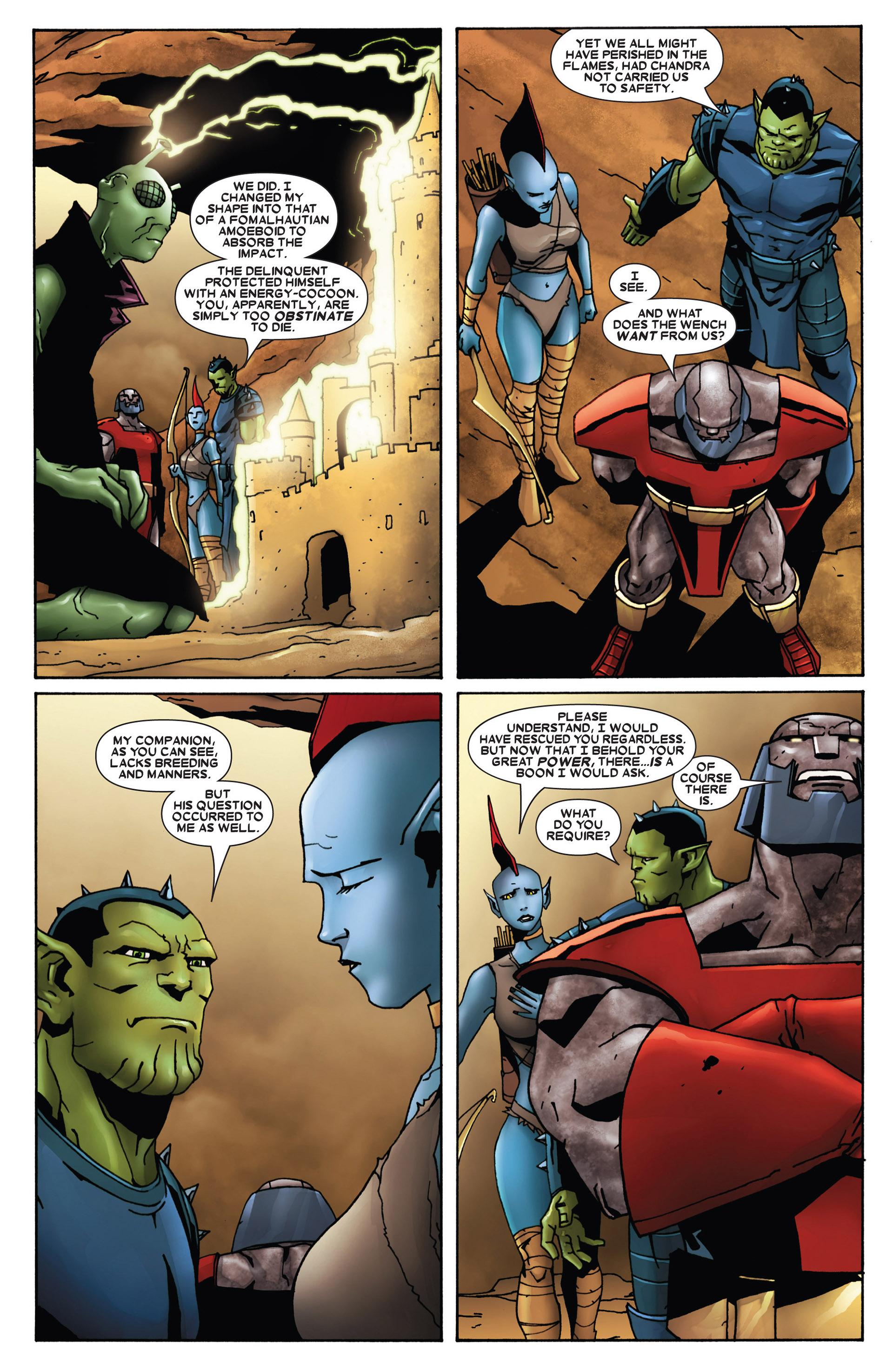 Read online Annihilation: Heralds Of Galactus comic -  Issue #1 - 7