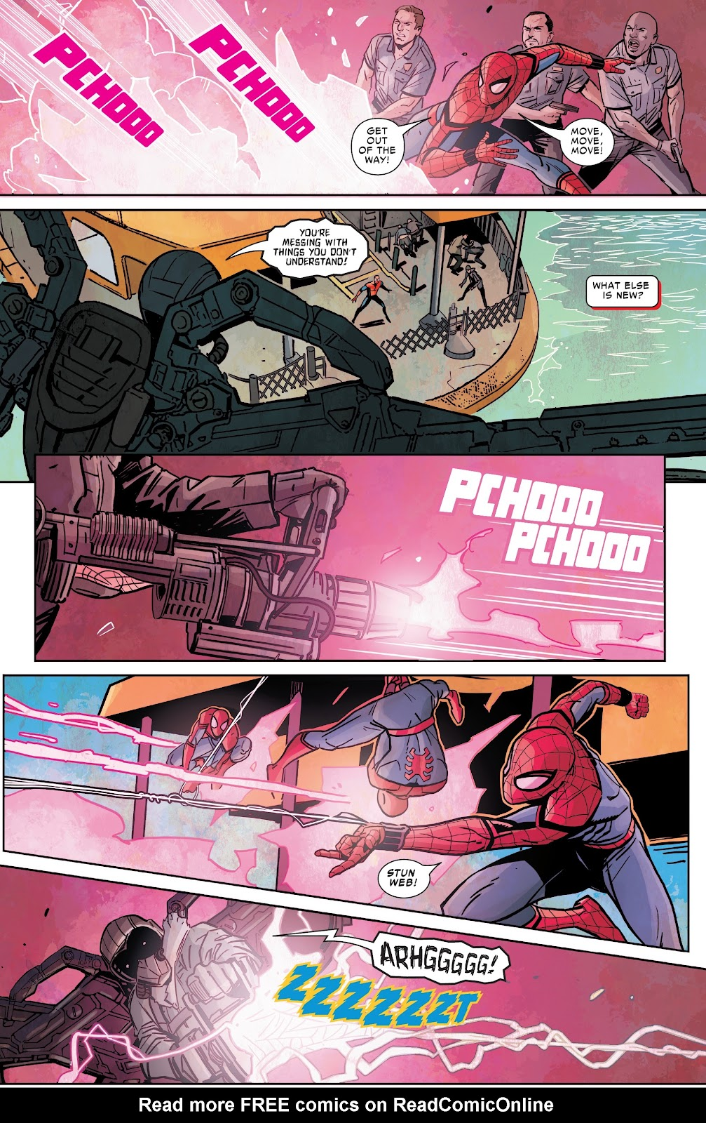 Read online Spider-Man: Far From Home Prelude comic -  Issue #2 - 9