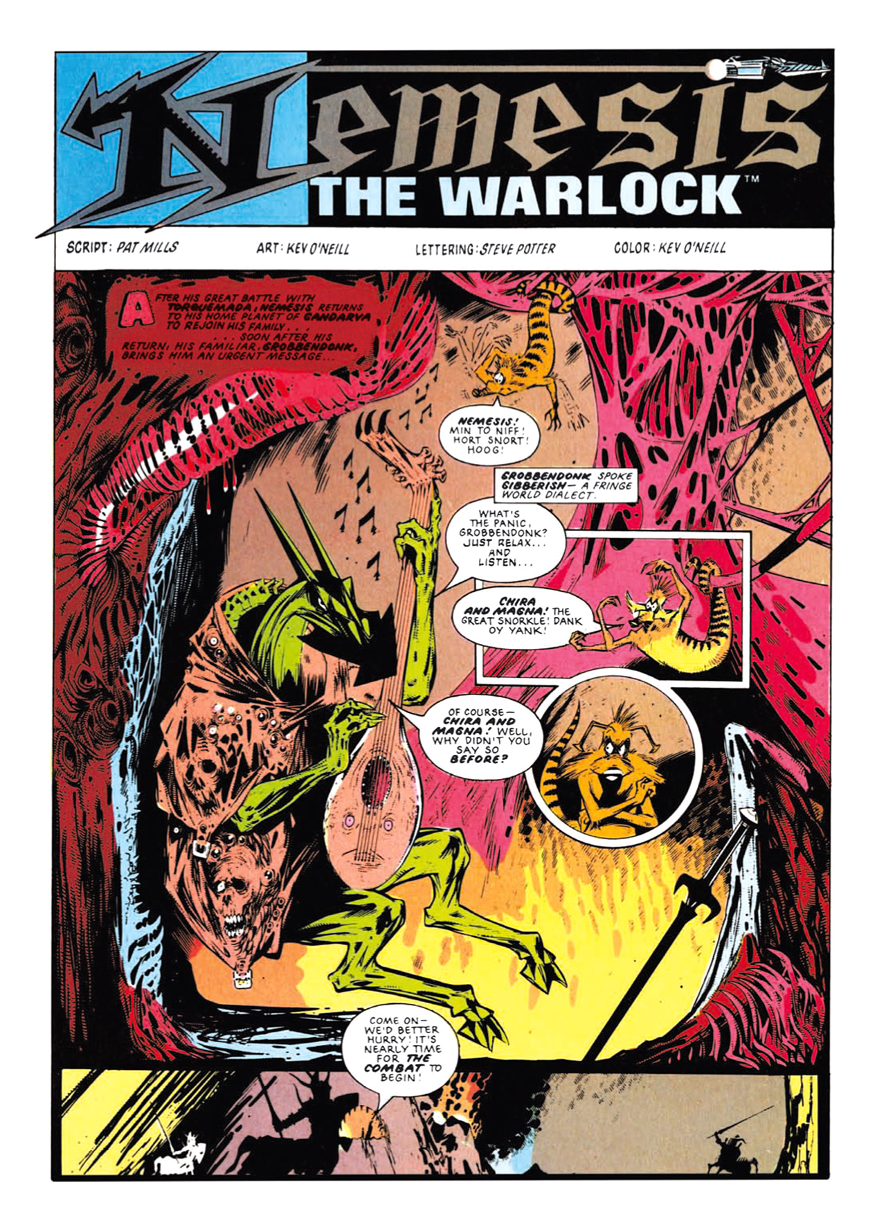 Read online Nemesis The Warlock comic -  Issue # TPB Deviant Edition - 153