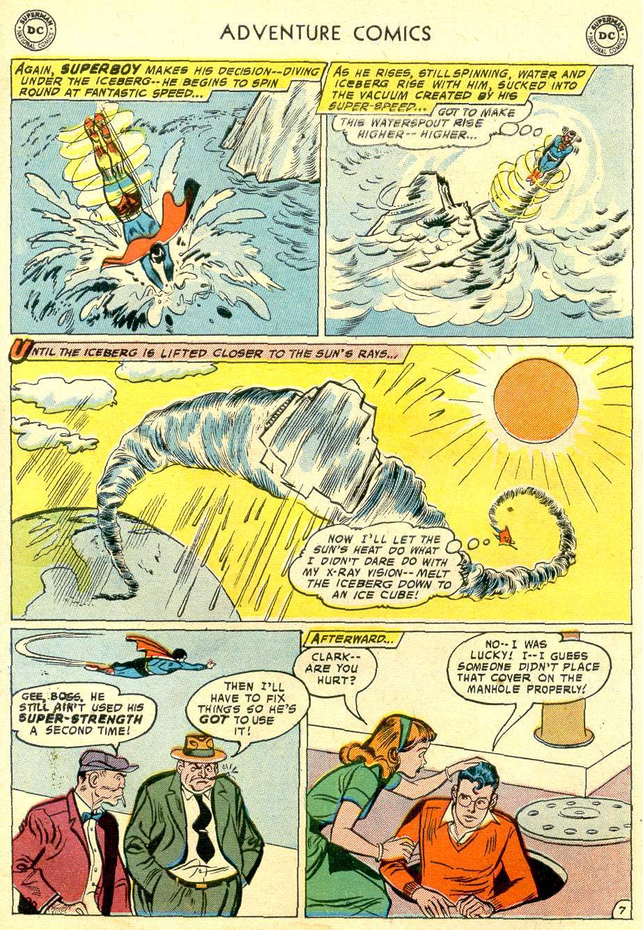 Read online Adventure Comics (1938) comic -  Issue #248 - 9