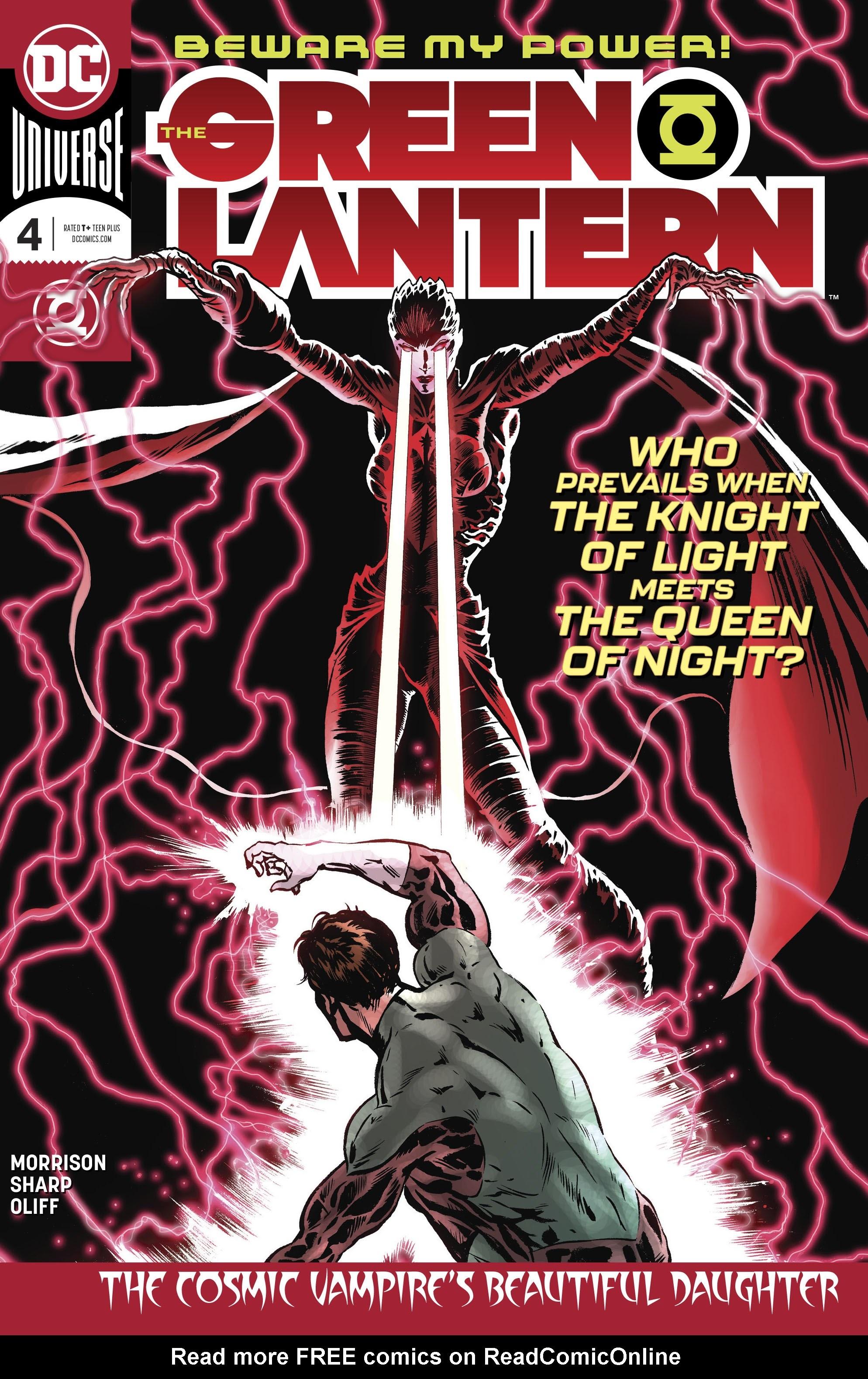 The Green Lantern 4 Page 1