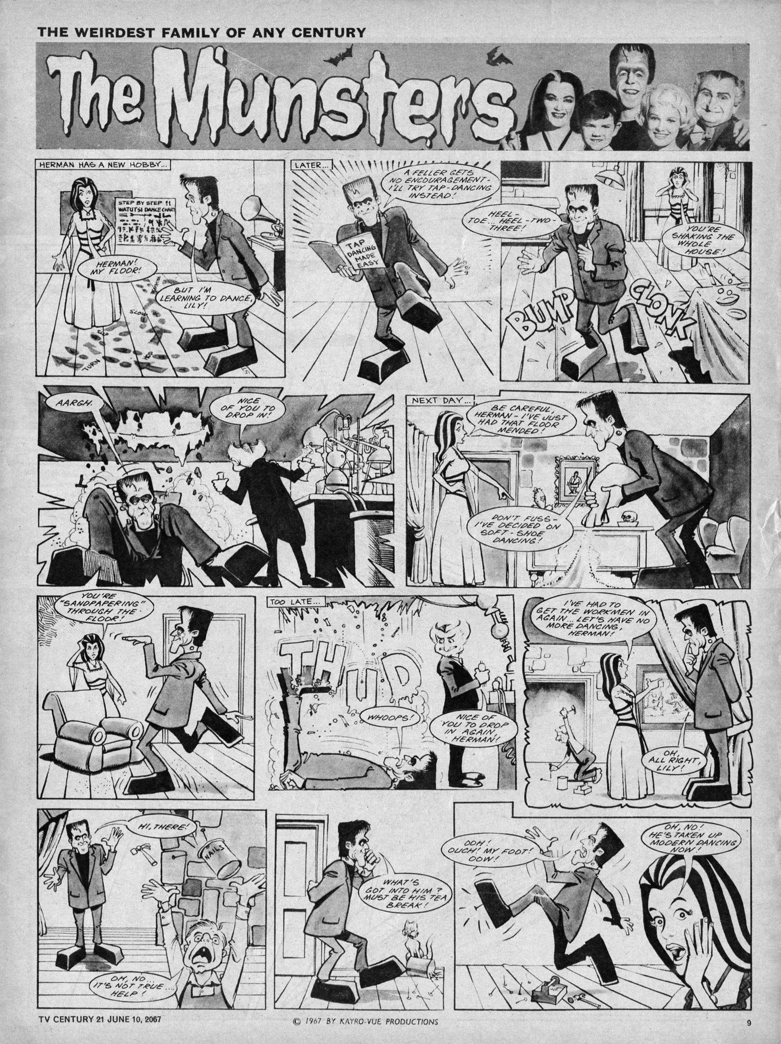 Read online TV Century 21 (TV 21) comic -  Issue #125 - 9