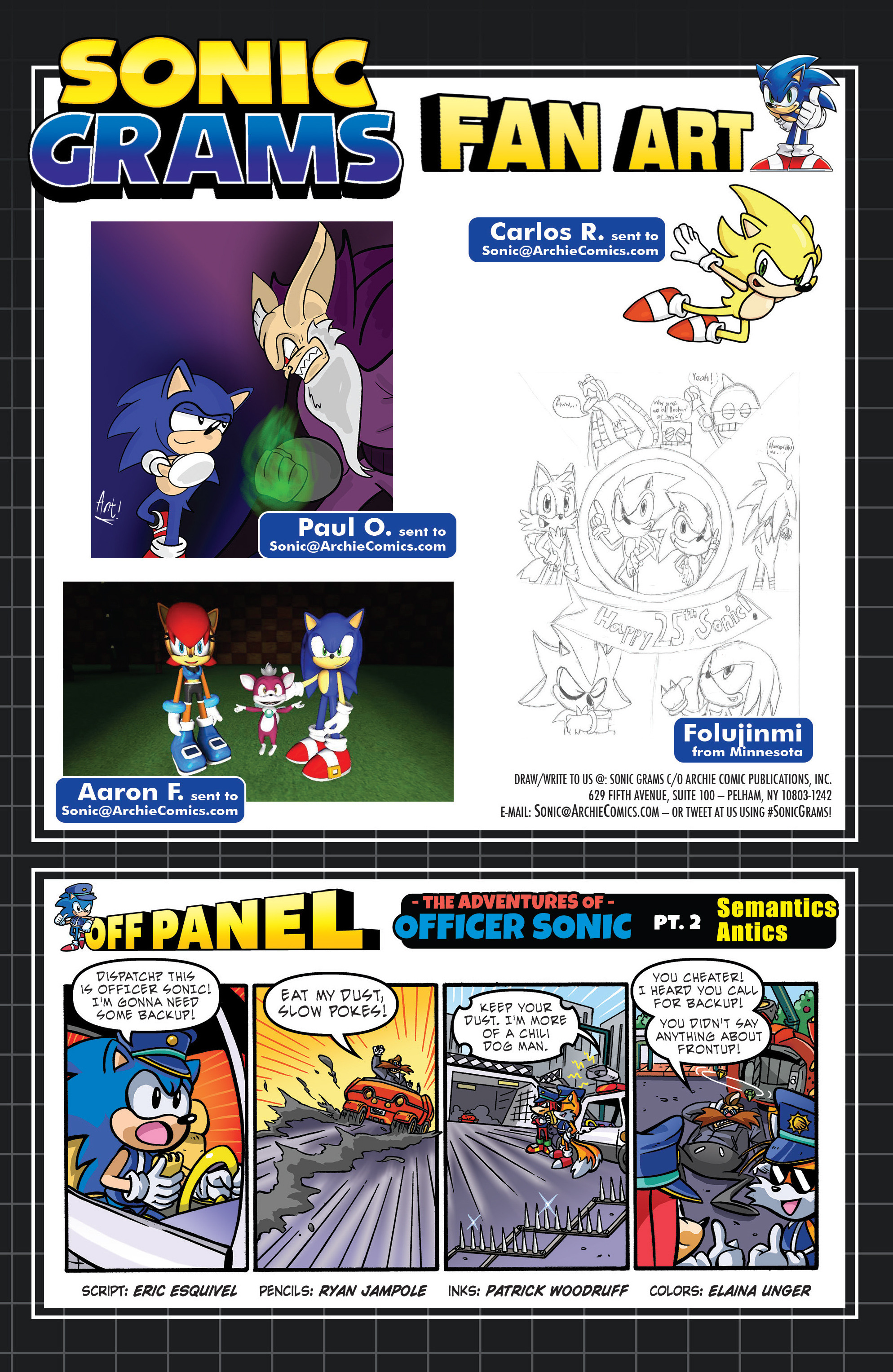 Read online Sonic The Hedgehog comic -  Issue #289 - 24