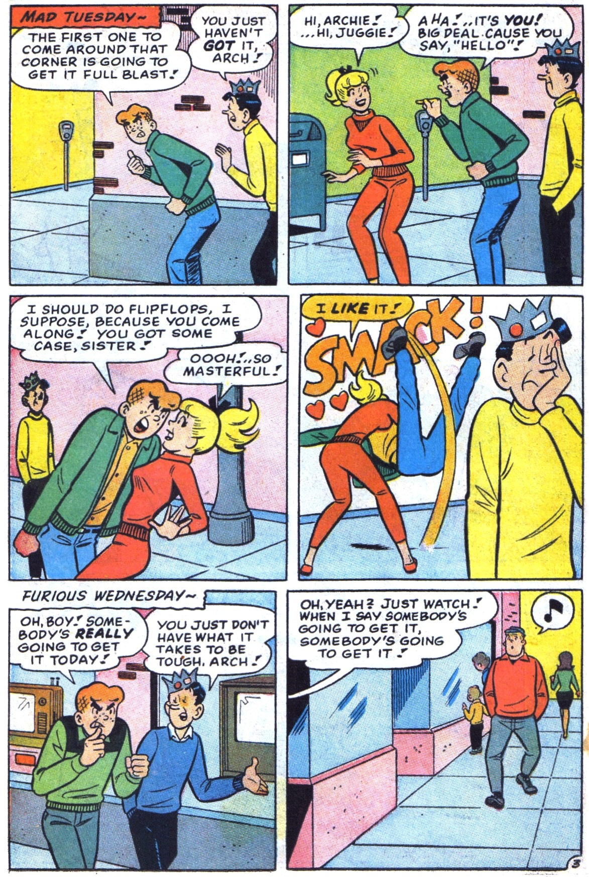 Read online Archie (1960) comic -  Issue #172 - 22