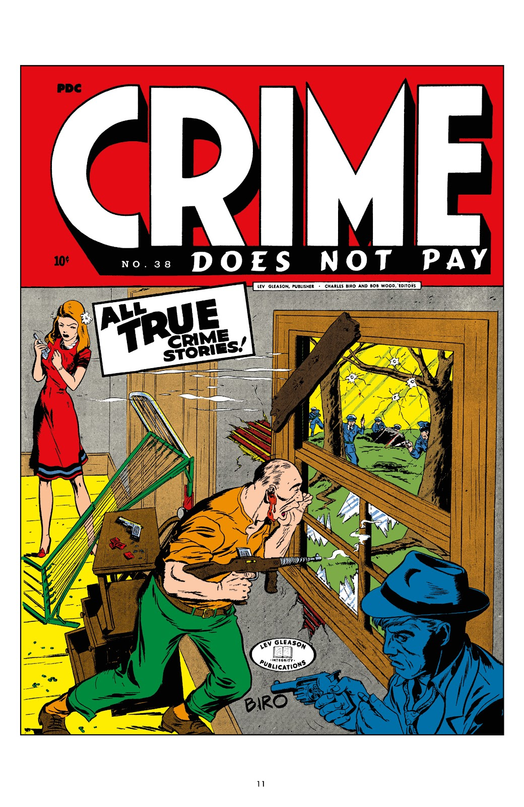 Read online Crime Does Not Pay Archives comic -  Issue # TPB 5 (Part 1) - 11