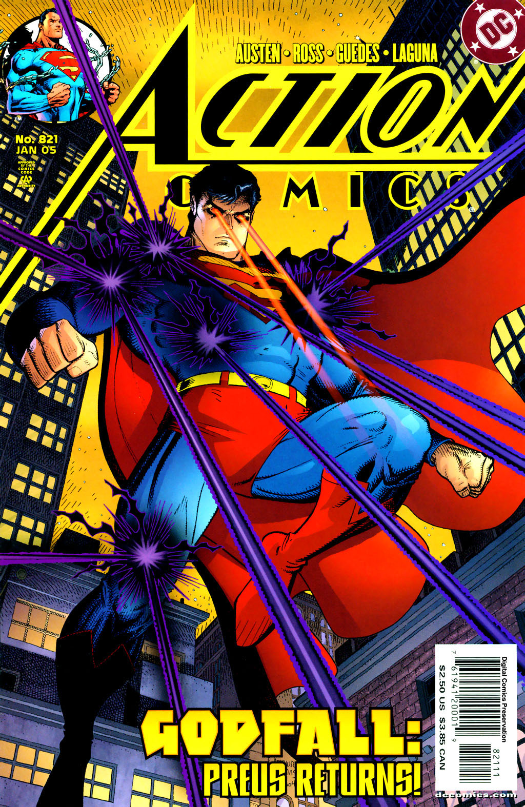 Read online Action Comics (1938) comic -  Issue #821 - 1