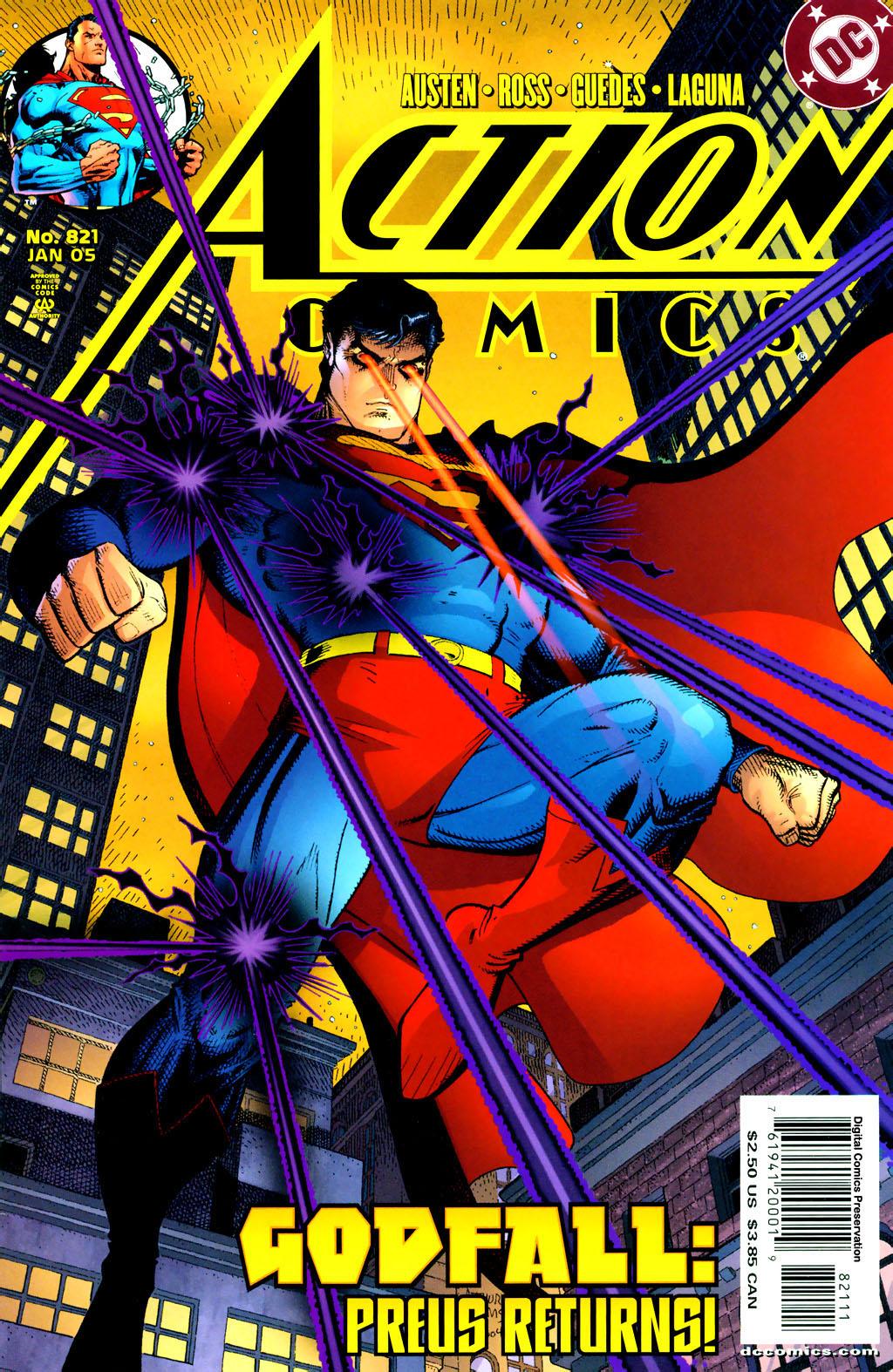 Action Comics (1938) 821 Page 1