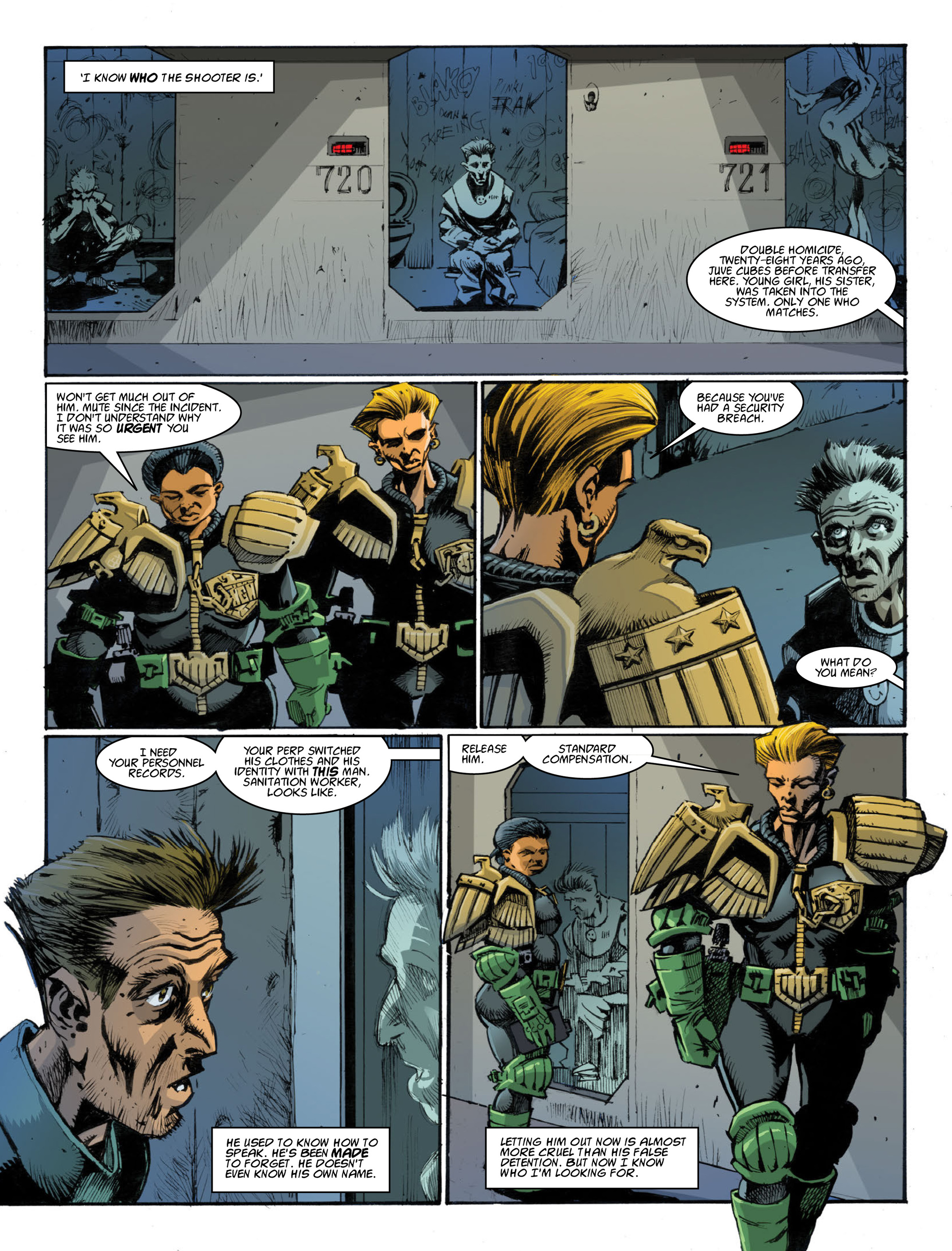 Read online 2000 AD comic -  Issue #1995 - 29