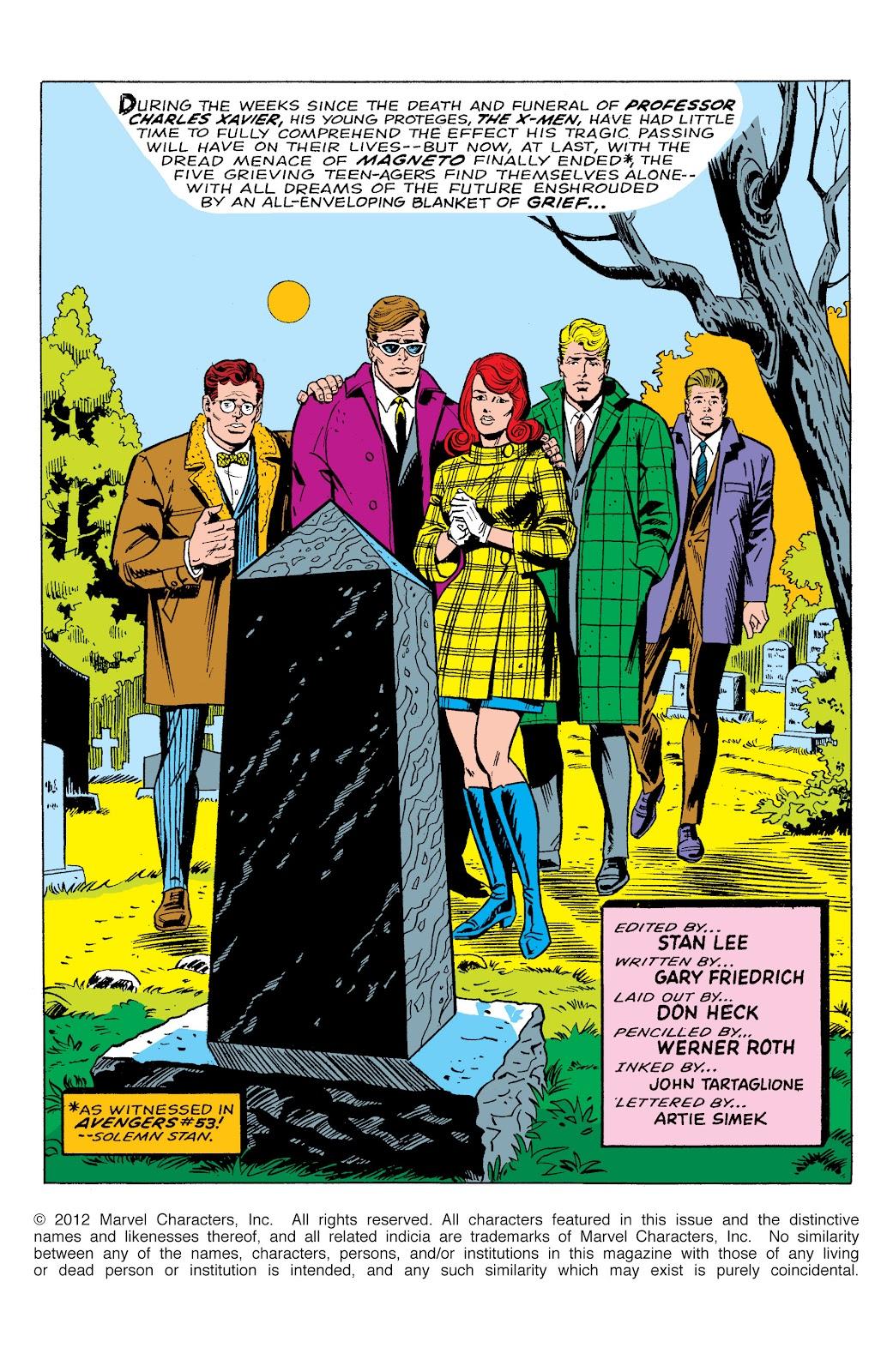 Uncanny X-Men (1963) issue 46 - Page 2