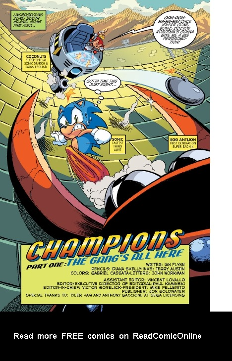 Read online Sonic Comics Spectacular: Speed of Sound comic -  Issue # Full - 256