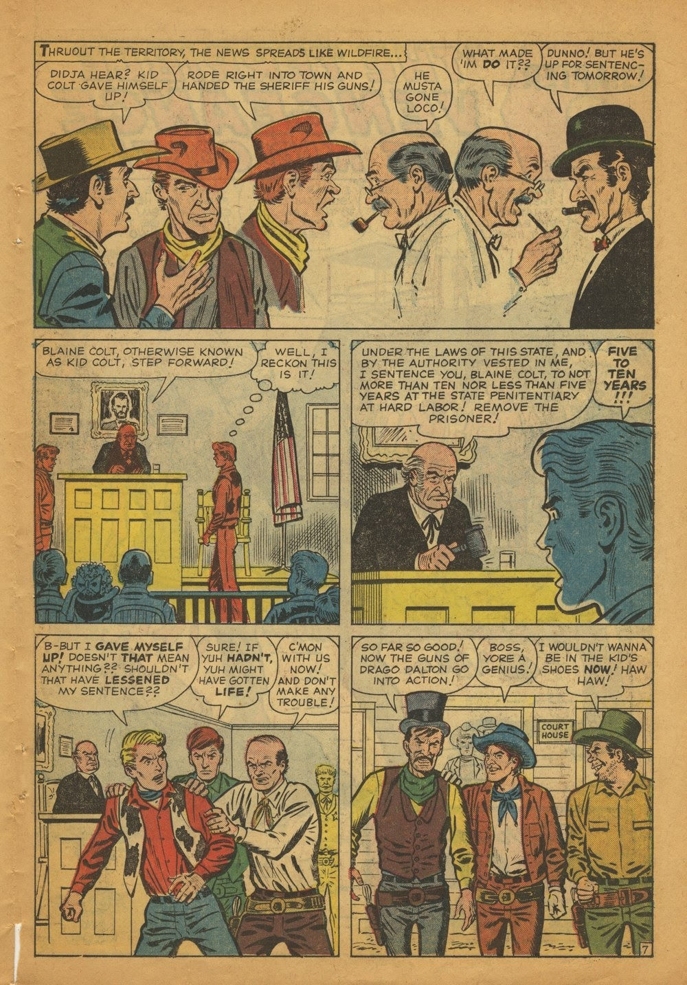 Kid Colt Outlaw issue 97 - Page 11