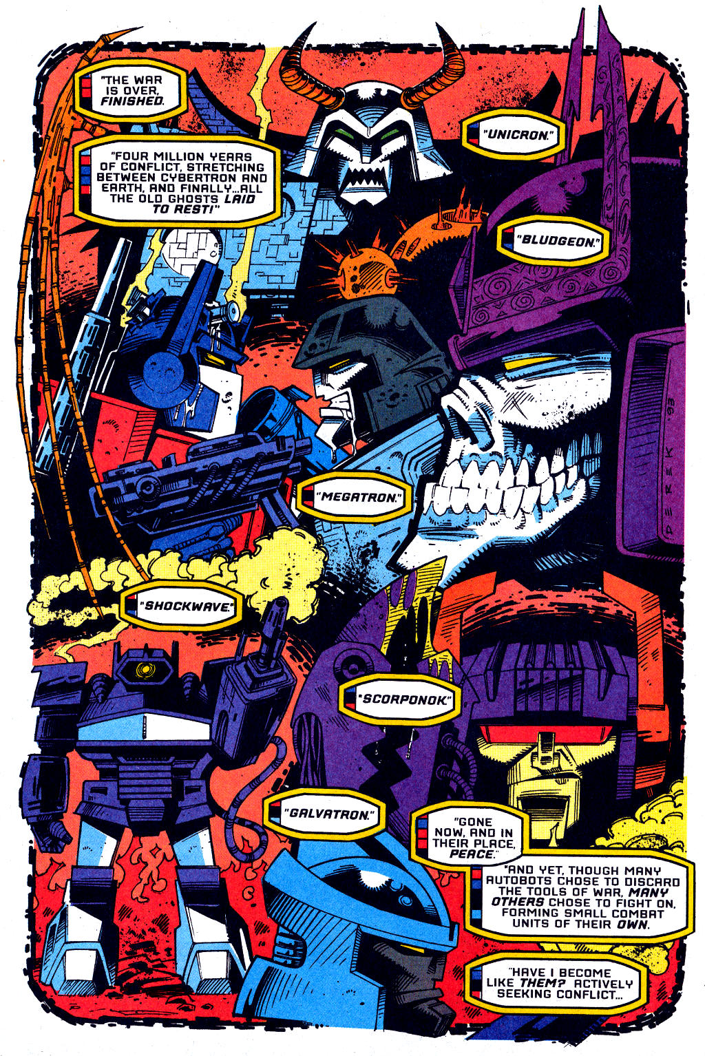 Read online Transformers: Generation 2 comic -  Issue #1 - 16