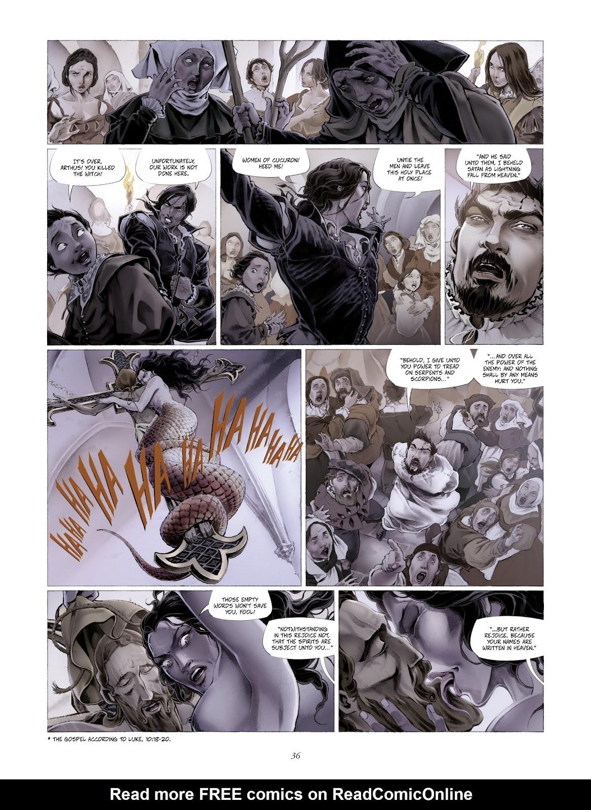 Read online Arthus Trivium comic -  Issue #4 - 38