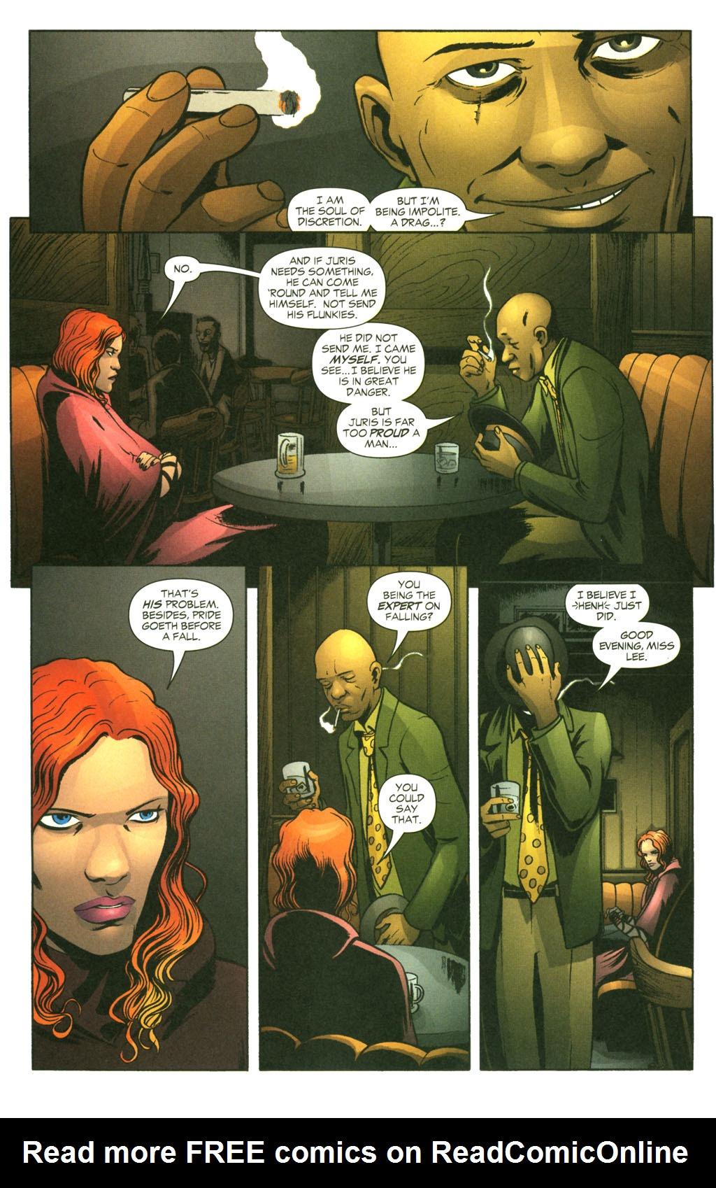 Read online Fallen Angel (2003) comic -  Issue #14 - 10