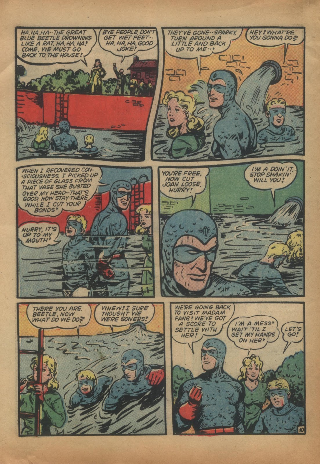 The Blue Beetle issue 15 - Page 12