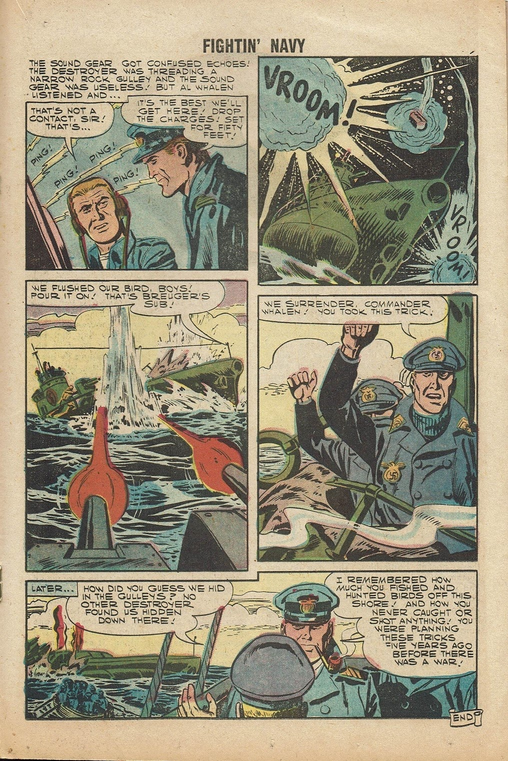 Read online Fightin' Navy comic -  Issue #81 - 19