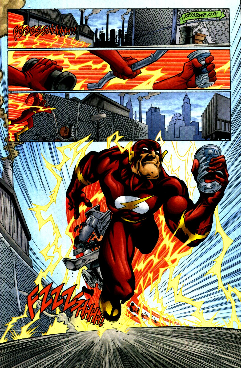 Read online The Flash: Our Worlds at War comic -  Issue # Full - 9