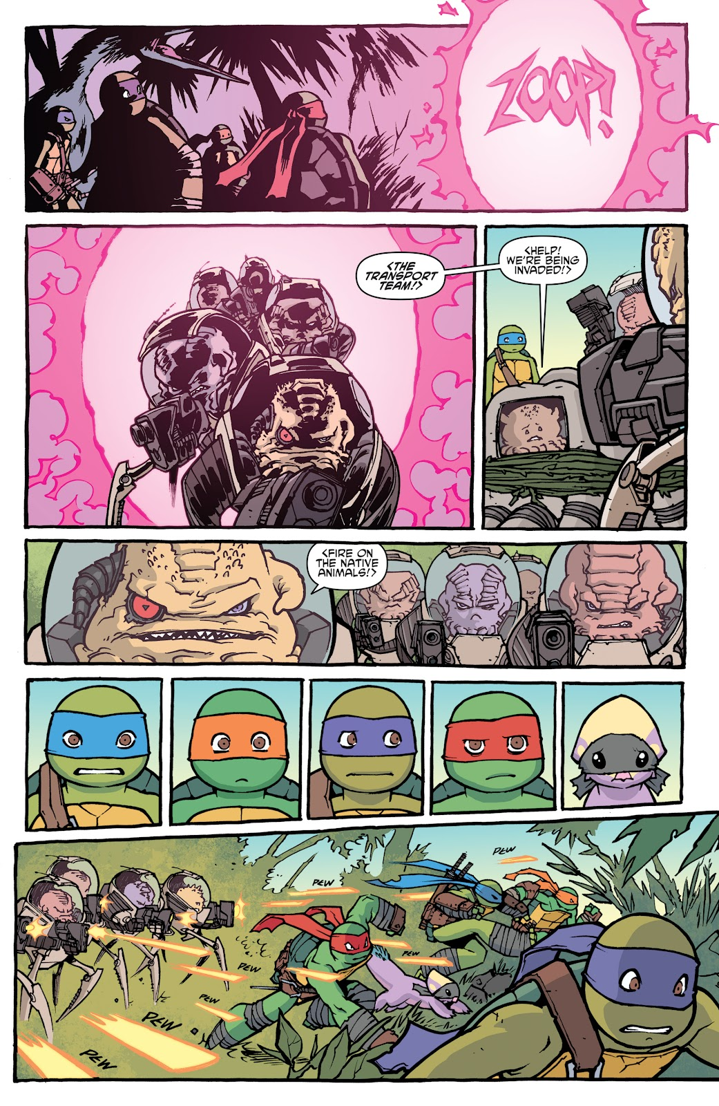 Read online Teenage Mutant Ninja Turtles: The IDW Collection comic -  Issue # TPB 5 (Part 1) - 24