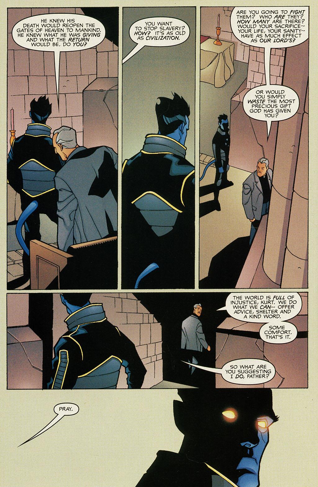 Read online Nightcrawler (2002) comic -  Issue #1 - 10