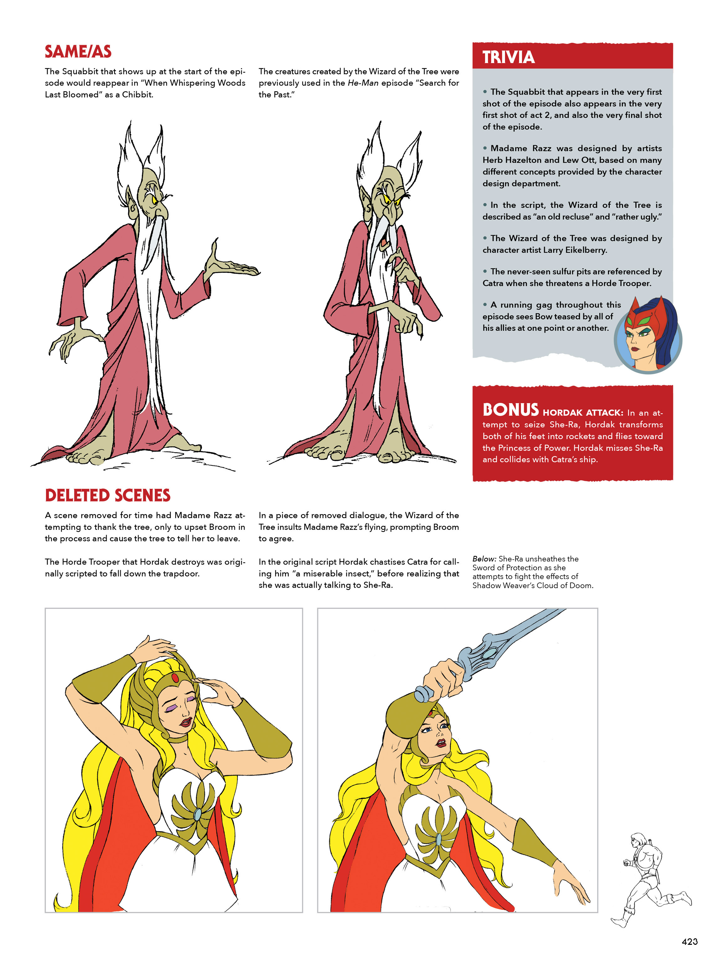 Read online He-Man and She-Ra: A Complete Guide to the Classic Animated Adventures comic -  Issue # TPB (Part 3) - 24