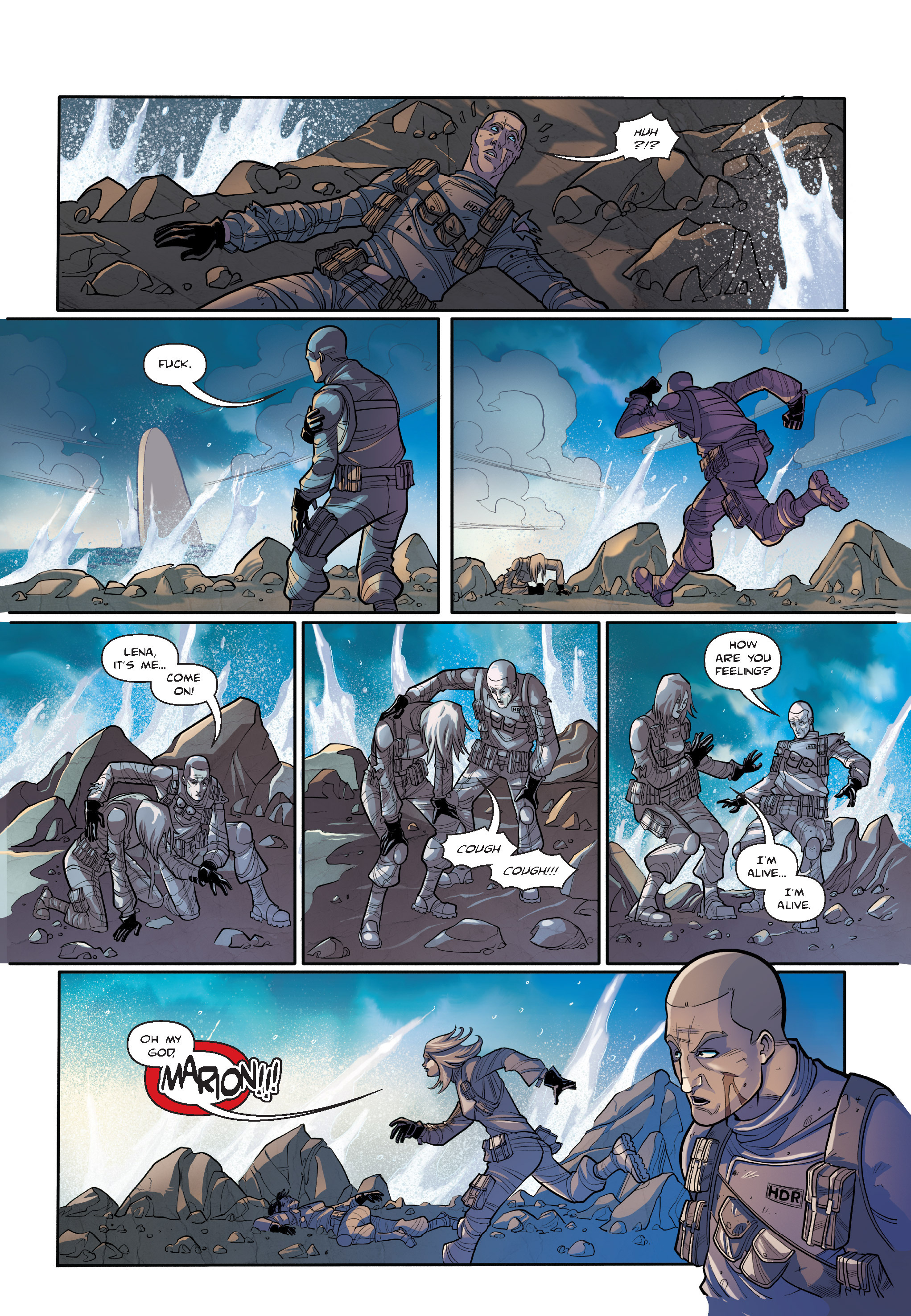 Read online The Shadow of a Terrible Thing comic -  Issue # TPB - 57