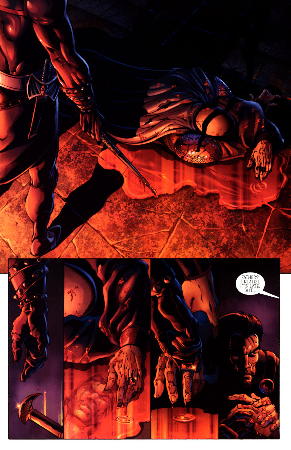 Read online Scion comic -  Issue #12 - 13