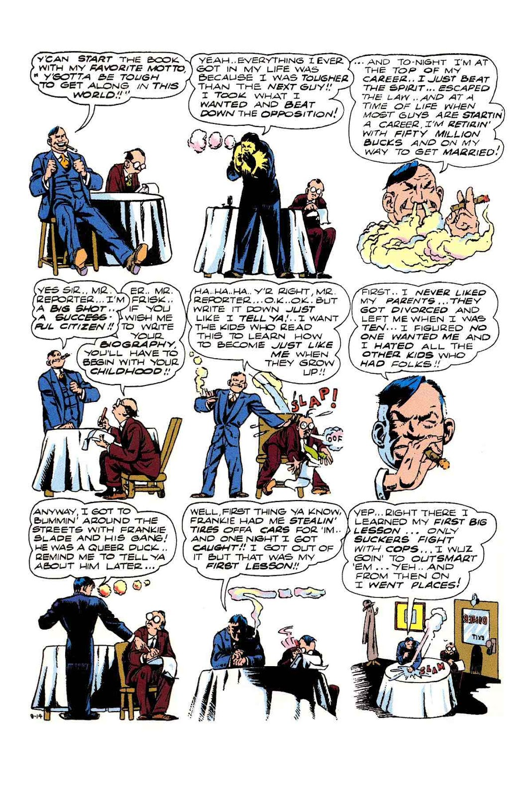 Read online Will Eisner's The Spirit Archives comic -  Issue # TPB 3 (Part 1) - 83