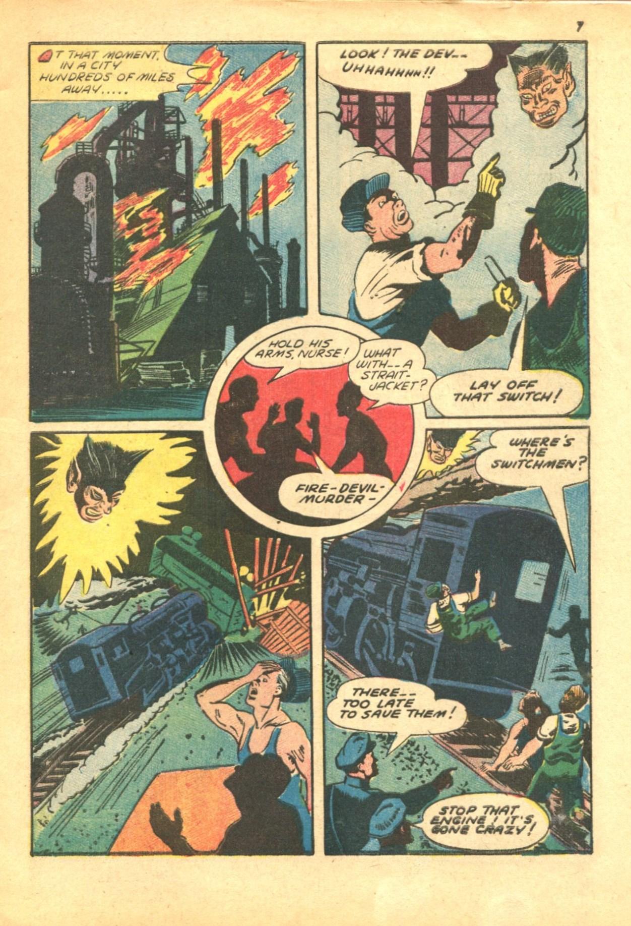 Read online Shadow Comics comic -  Issue #24 - 7