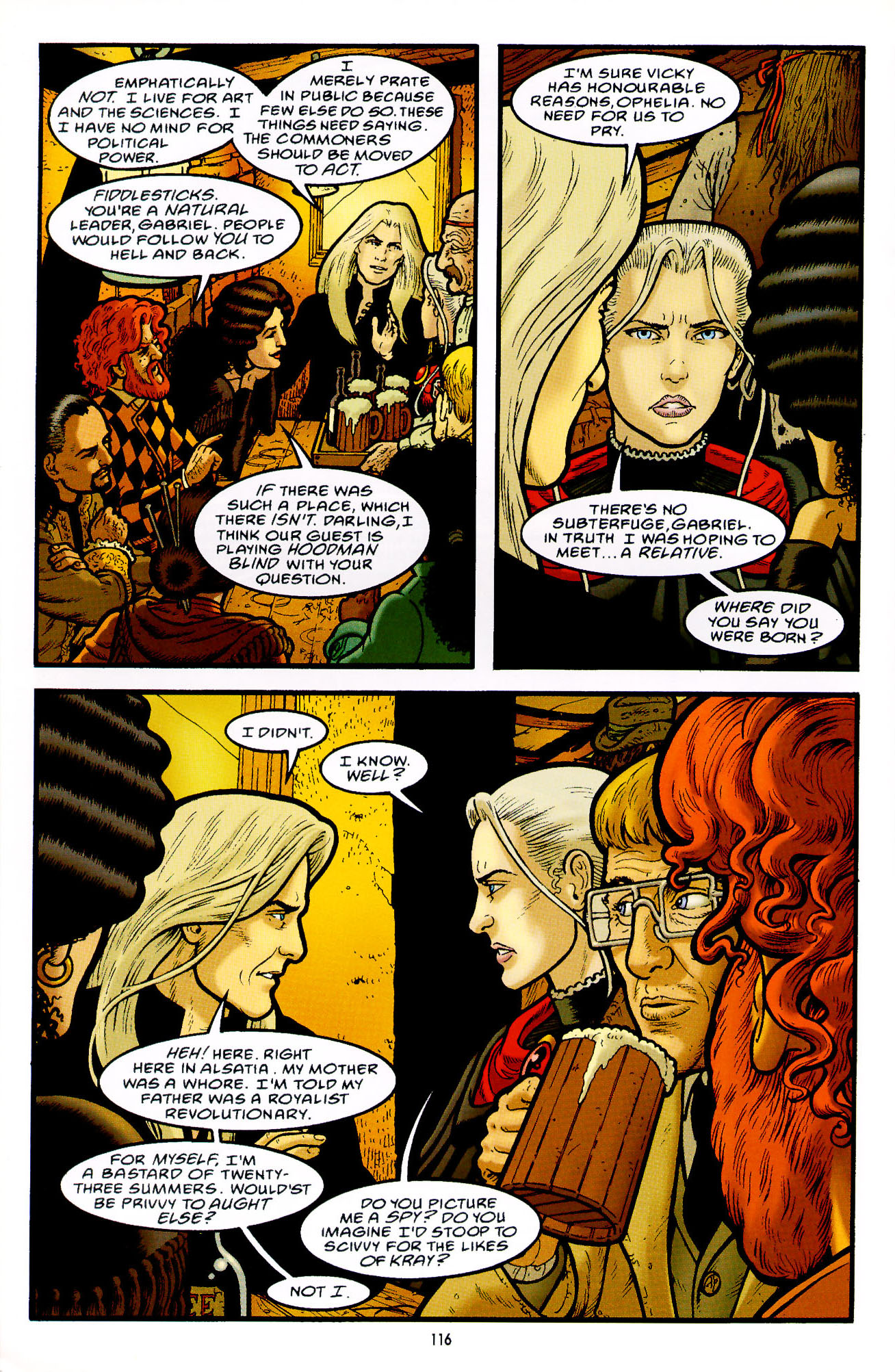 Read online Heart of Empire comic -  Issue #4 - 20