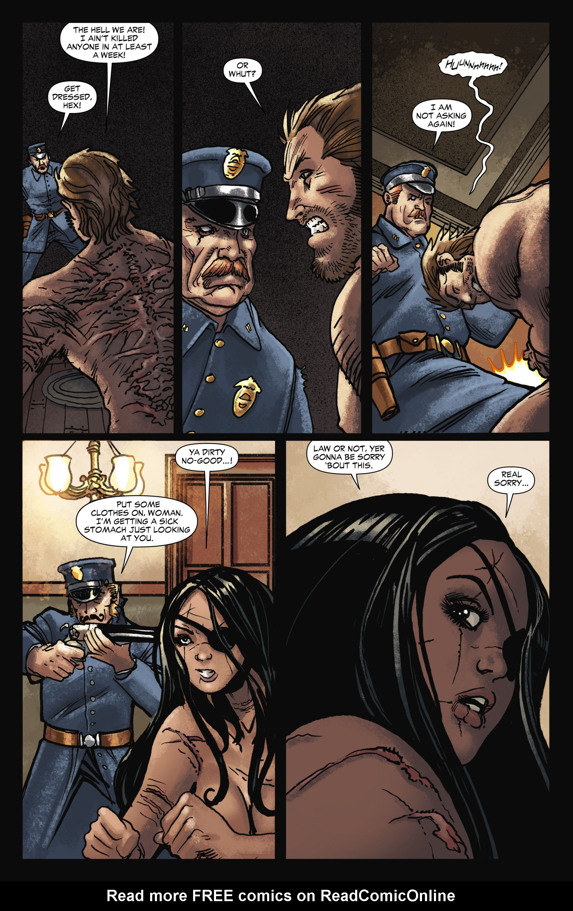Read online All-Star Western (2011) comic -  Issue #11 - 13