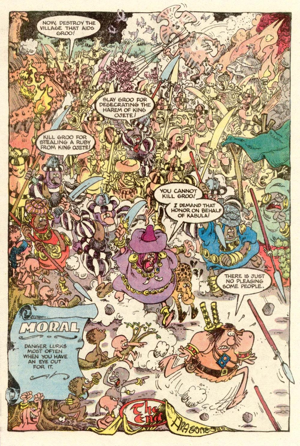 Read online Sergio Aragonés Groo the Wanderer comic -  Issue #6 - 23