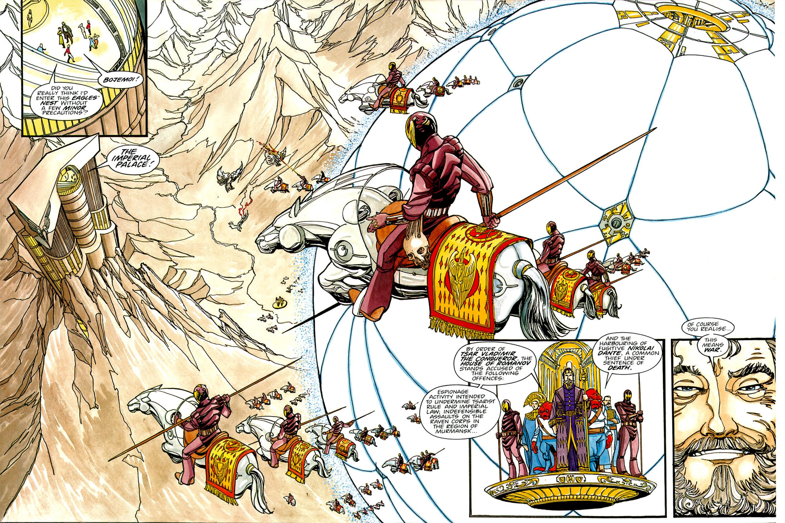 Read online Nikolai Dante comic -  Issue # TPB 1 - 52