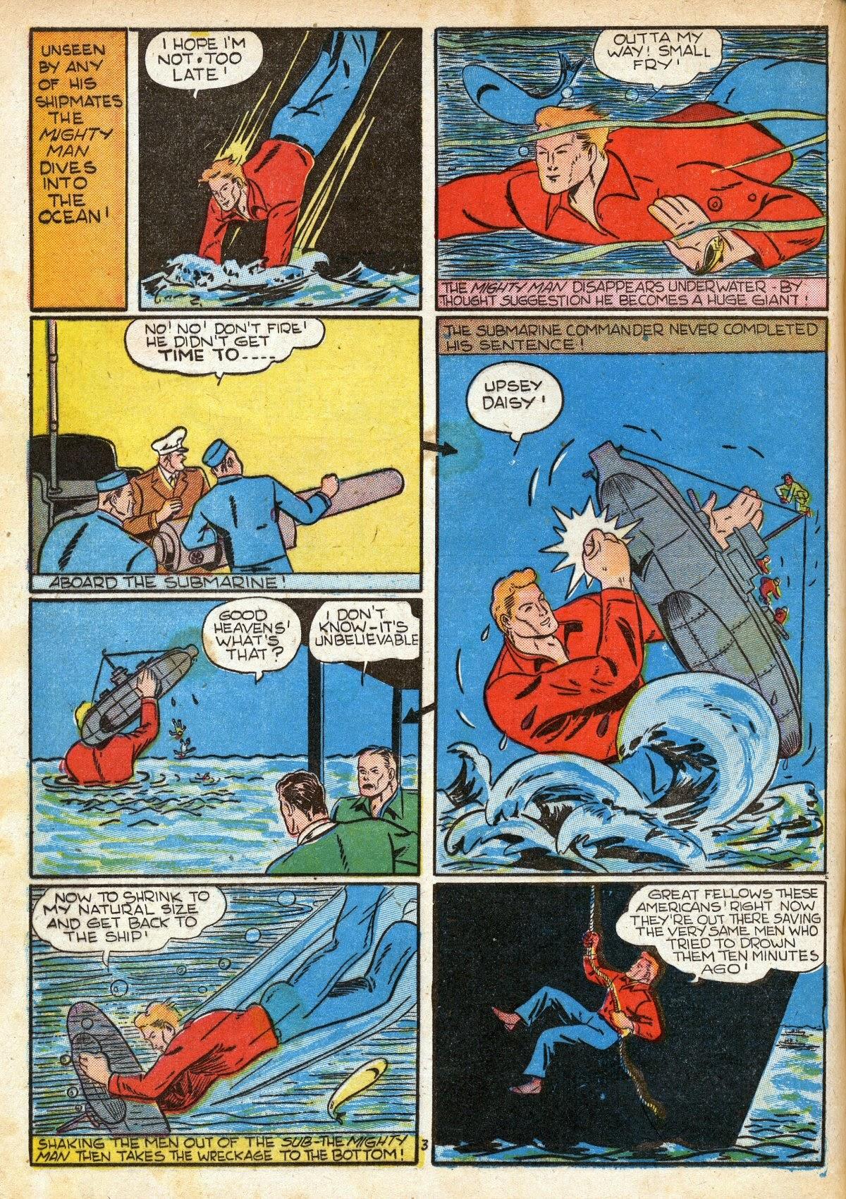 Read online Amazing Man Comics comic -  Issue #16 - 38