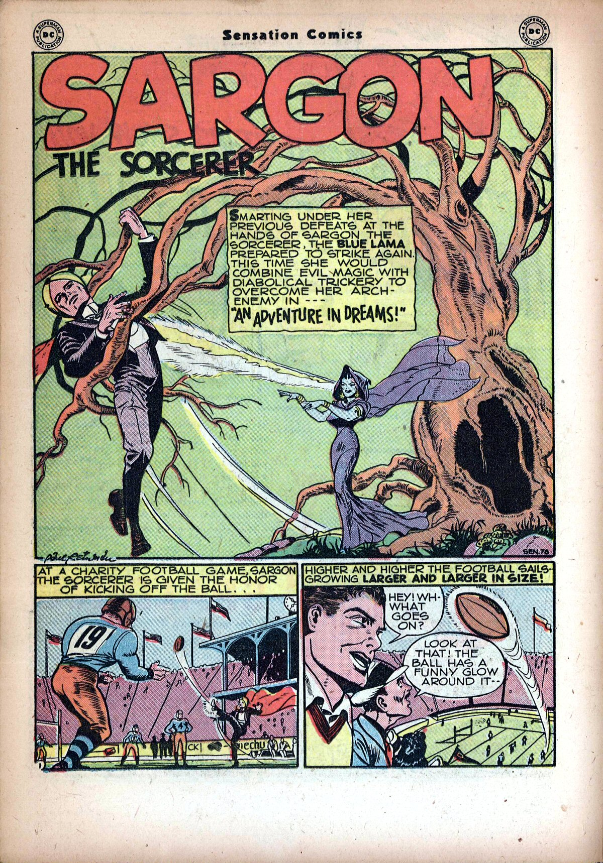 Read online Sensation (Mystery) Comics comic -  Issue #72 - 24