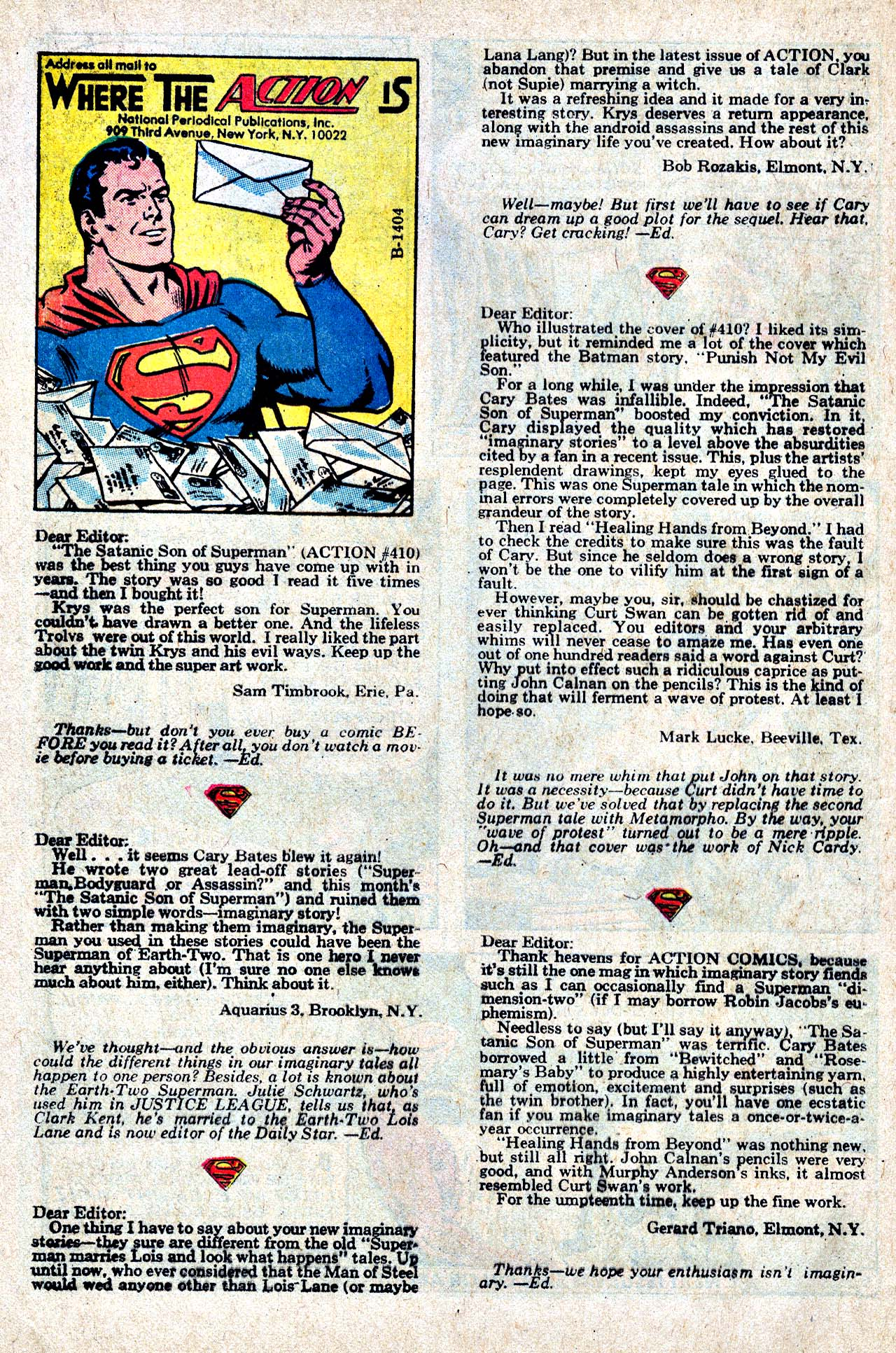 Read online Action Comics (1938) comic -  Issue #414 - 33
