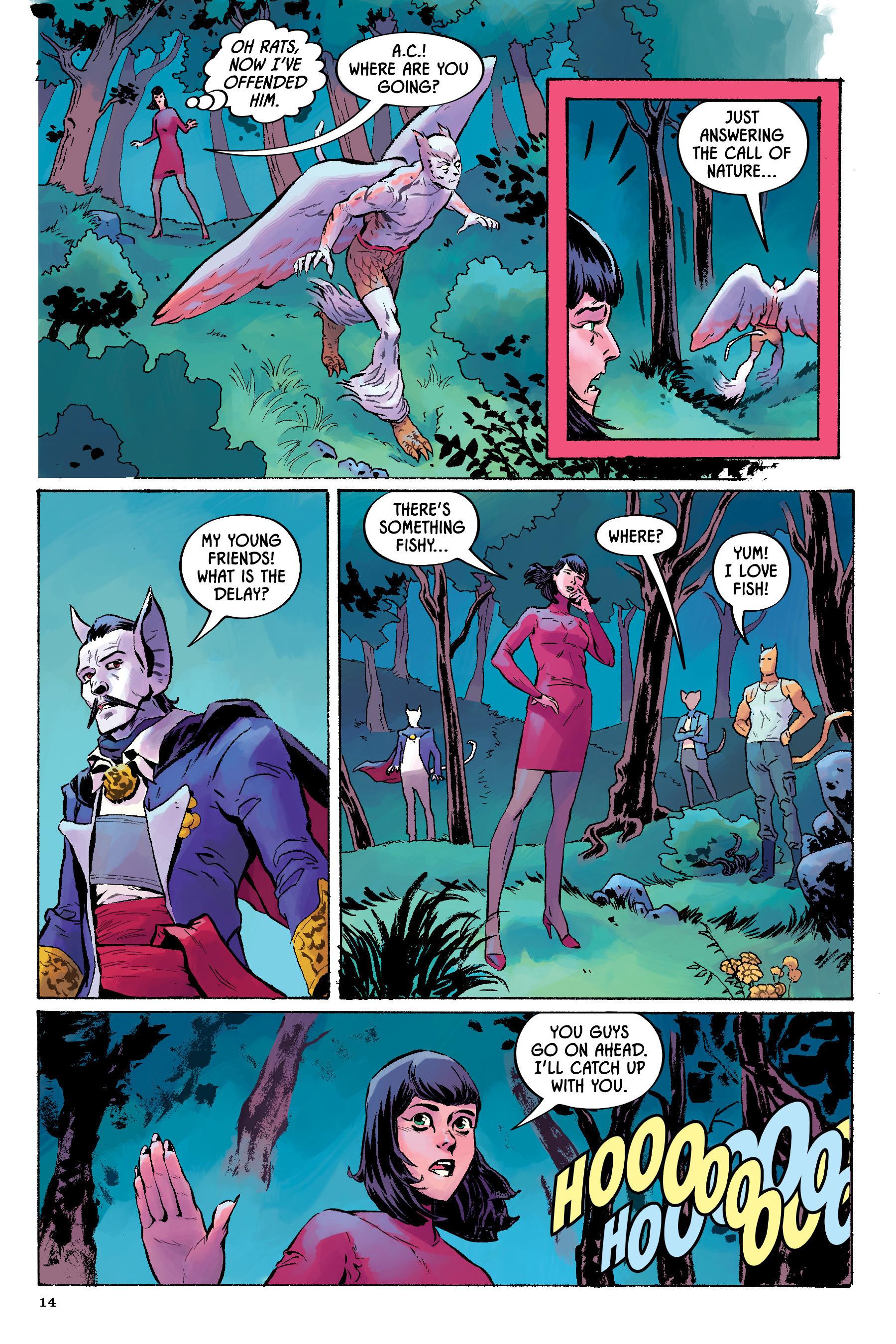 Read online Angel Catbird comic -  Issue # TPB 2 - 15