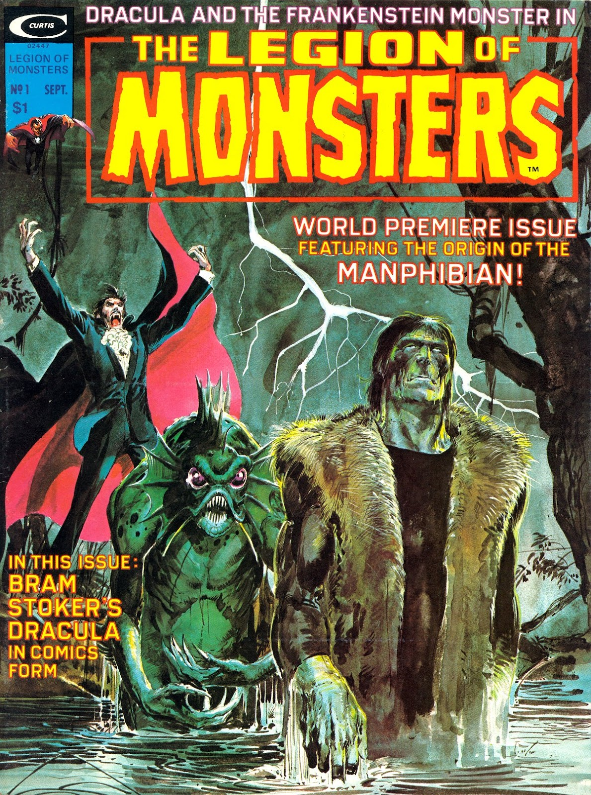 Legion of Monsters (1975) issue Full - Page 1