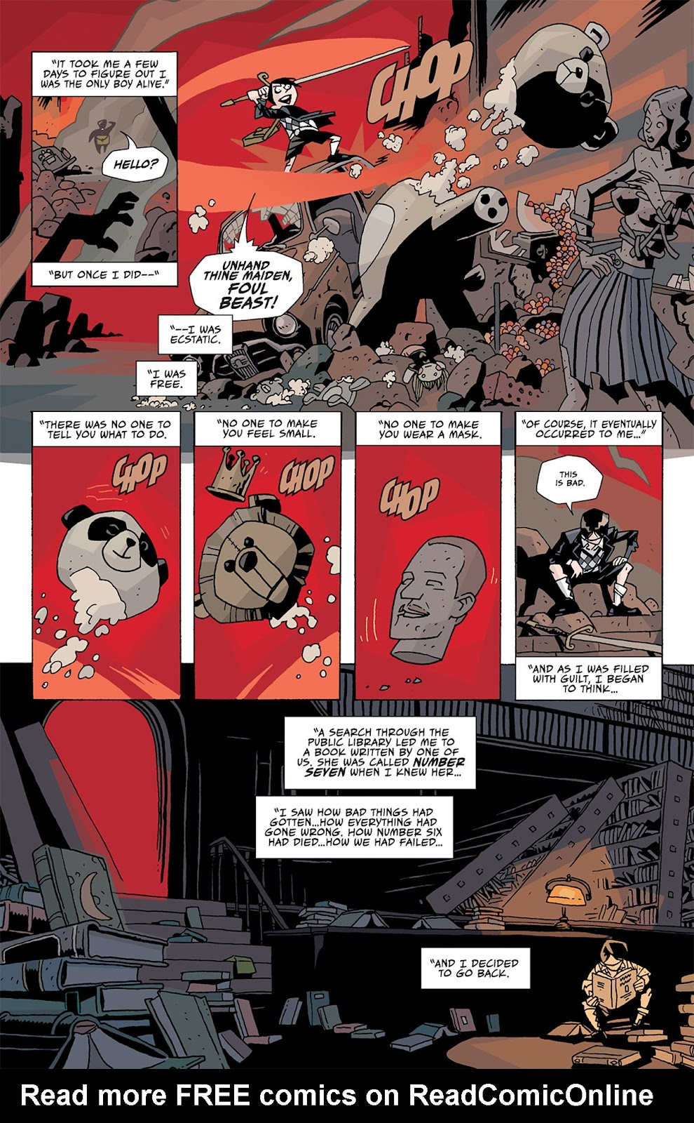 The Umbrella Academy: Apocalypse Suite issue 2 - Page 8