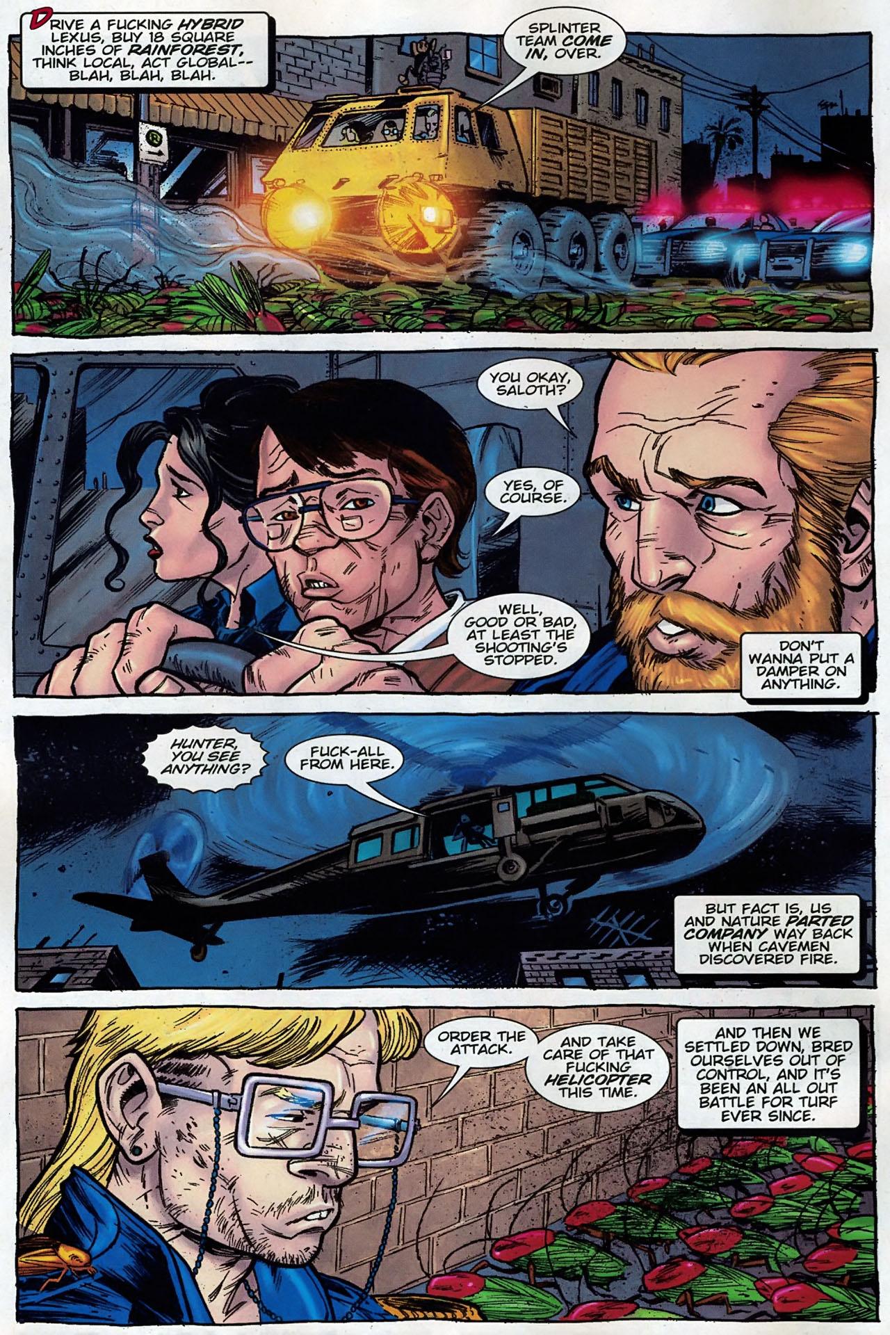 Read online The Exterminators comic -  Issue #30 - 3