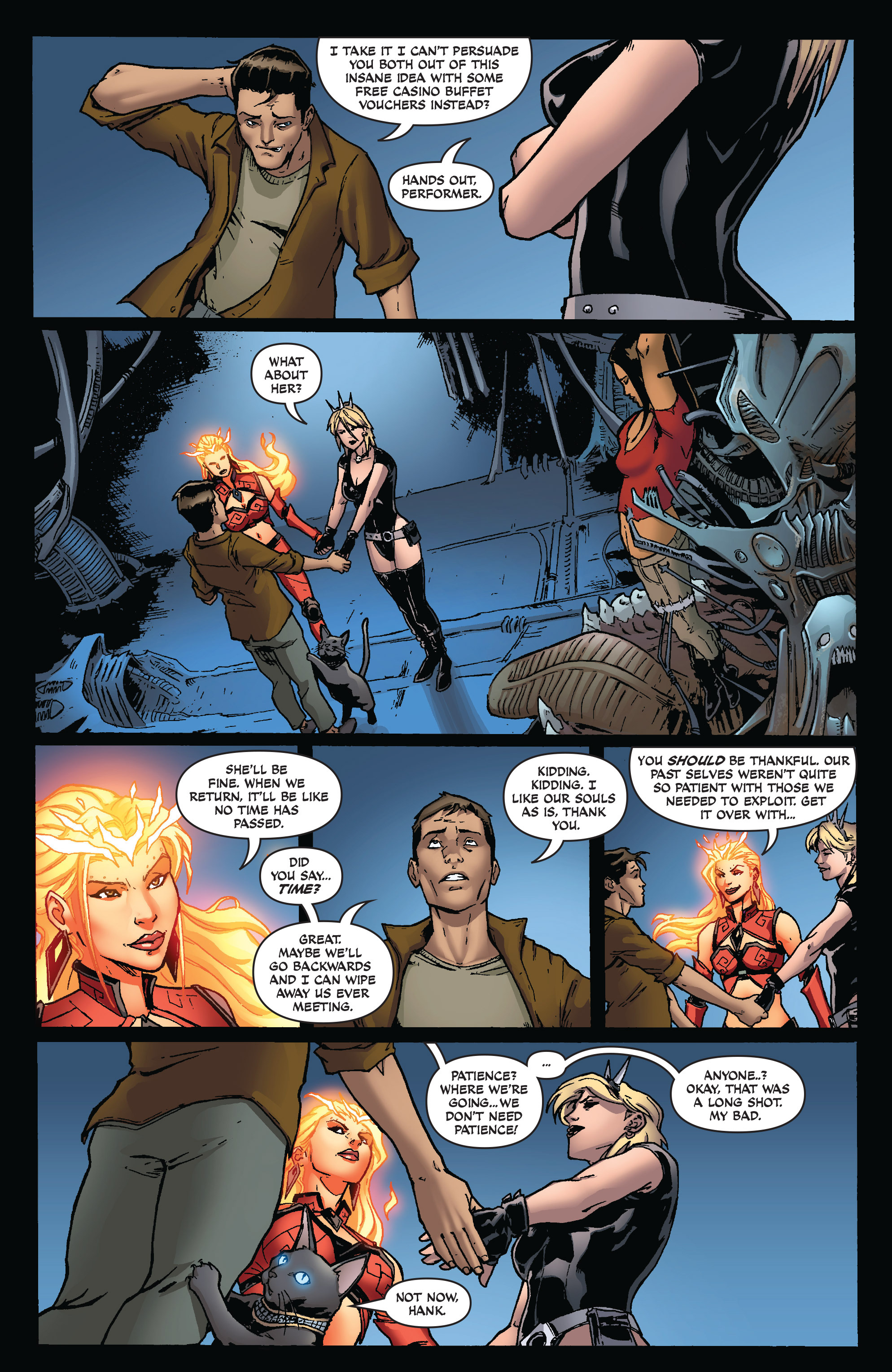 Read online Aspen Universe: Decimation comic -  Issue # Full - 11