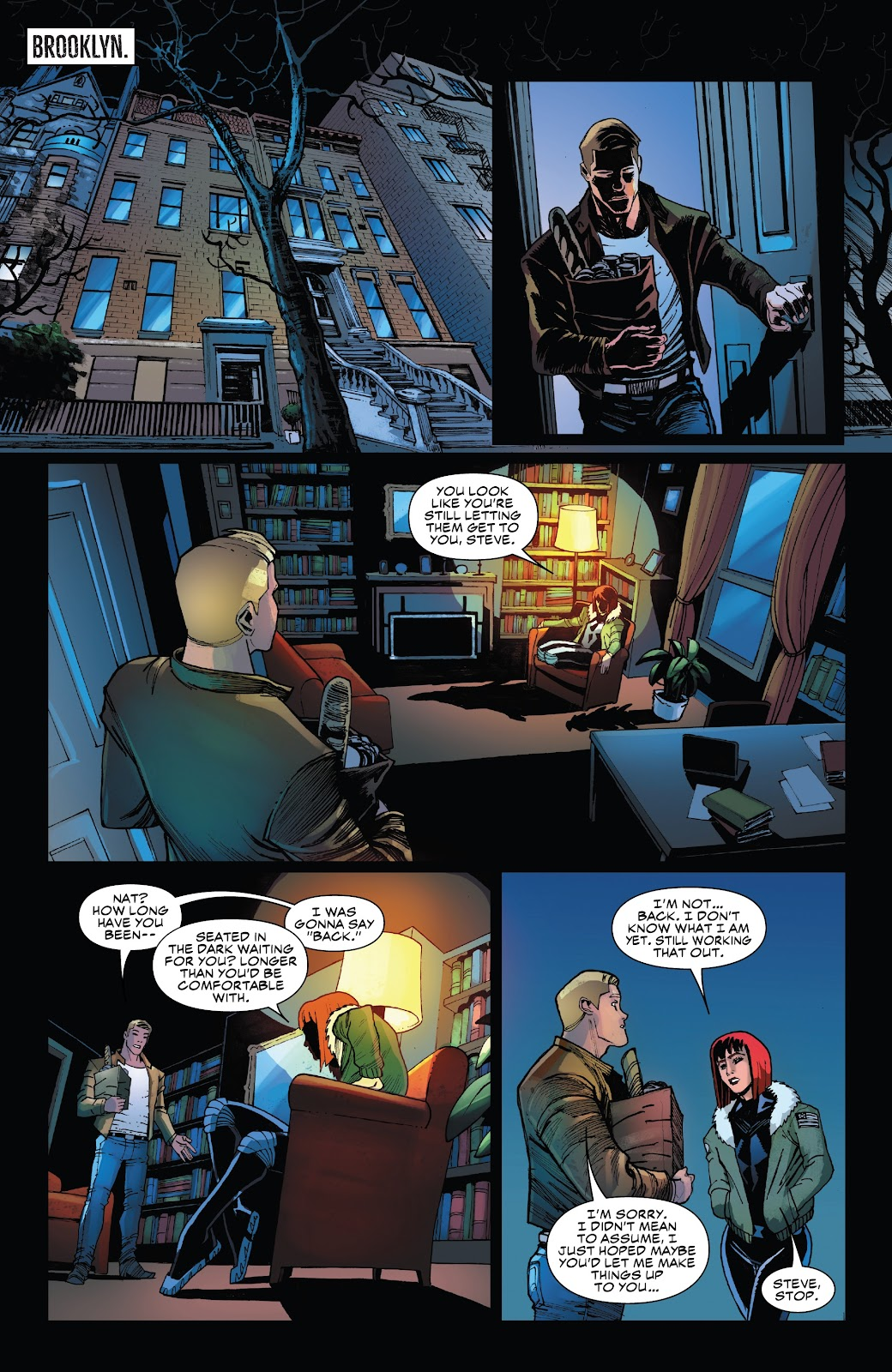 Read online Black Widow (2019) comic -  Issue #5 - 21