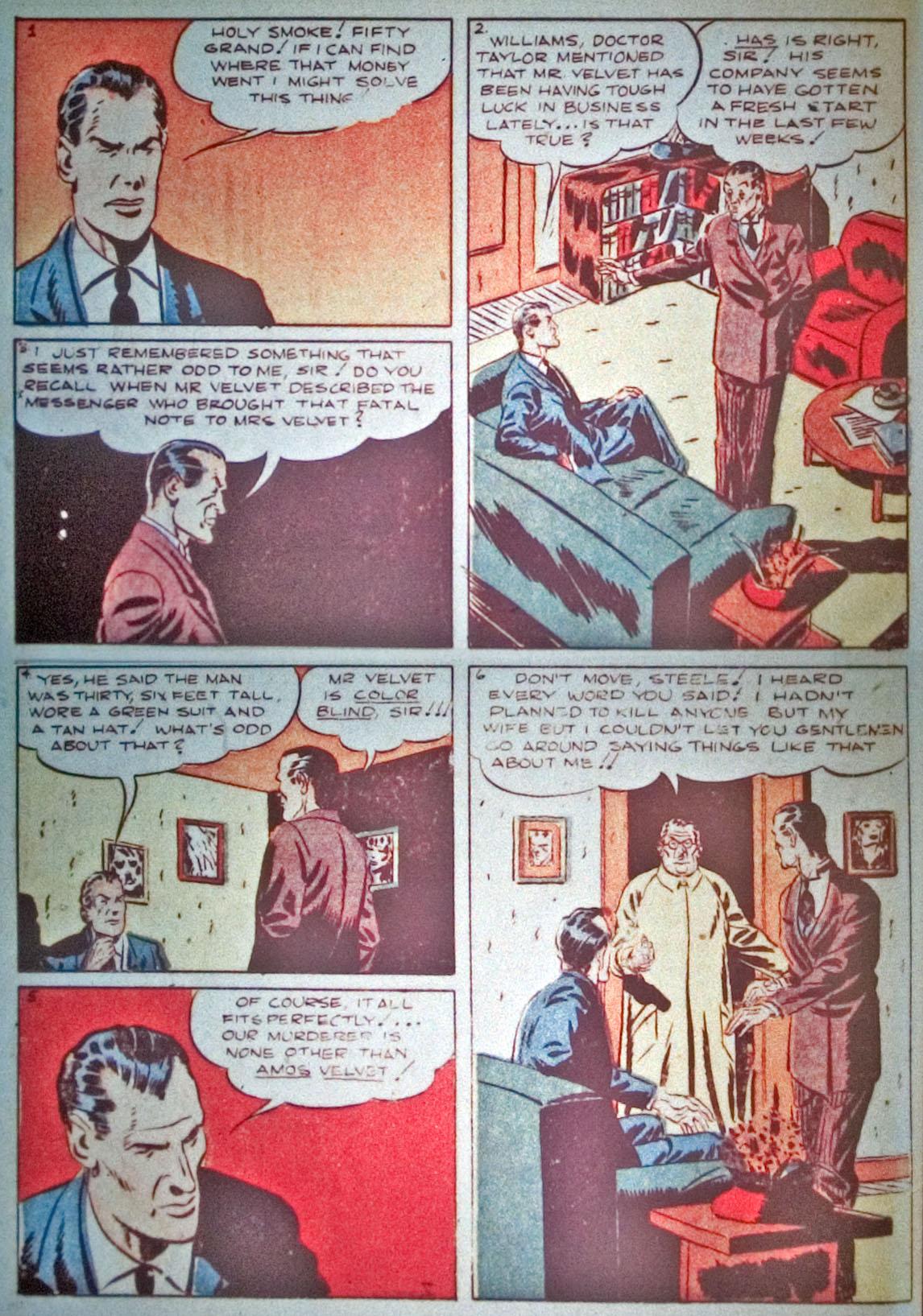 Read online Detective Comics (1937) comic -  Issue #31 - 32